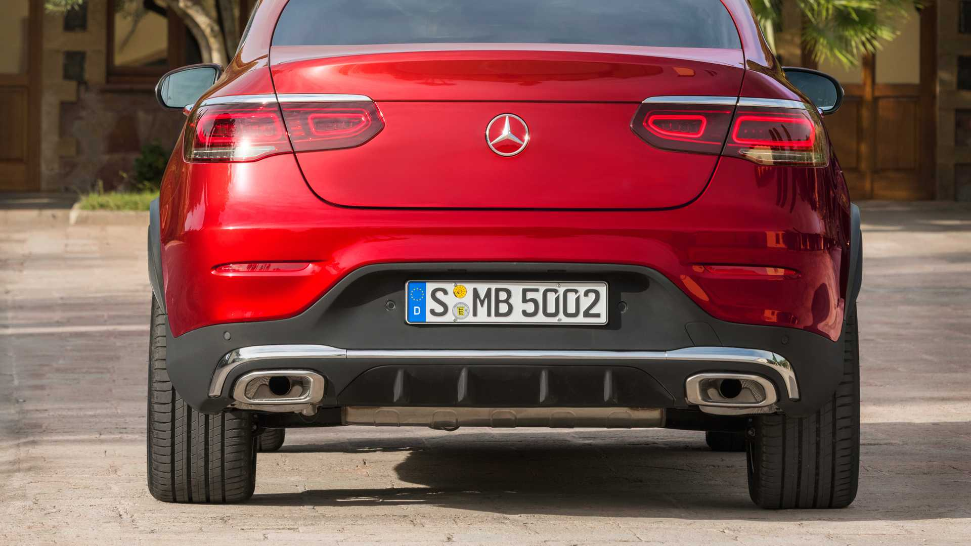 Mercedes Glc Coupe 2019 Rojo 015