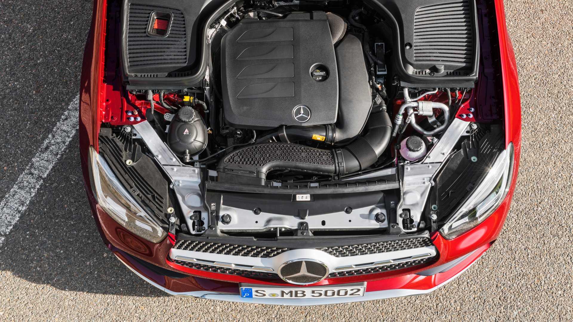 Mercedes Glc Coupe 2019 Rojo 017