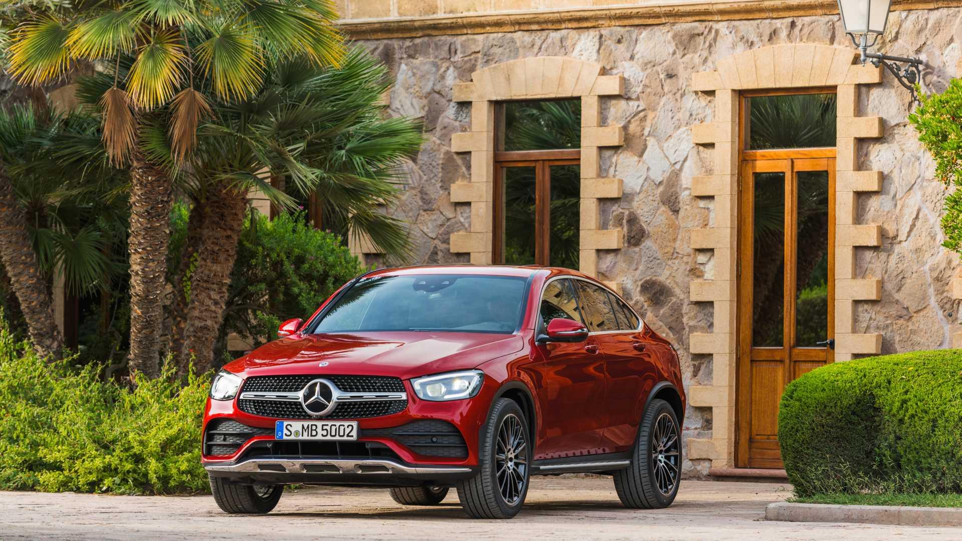 Mercedes Glc Coupe 2019 Rojo 023