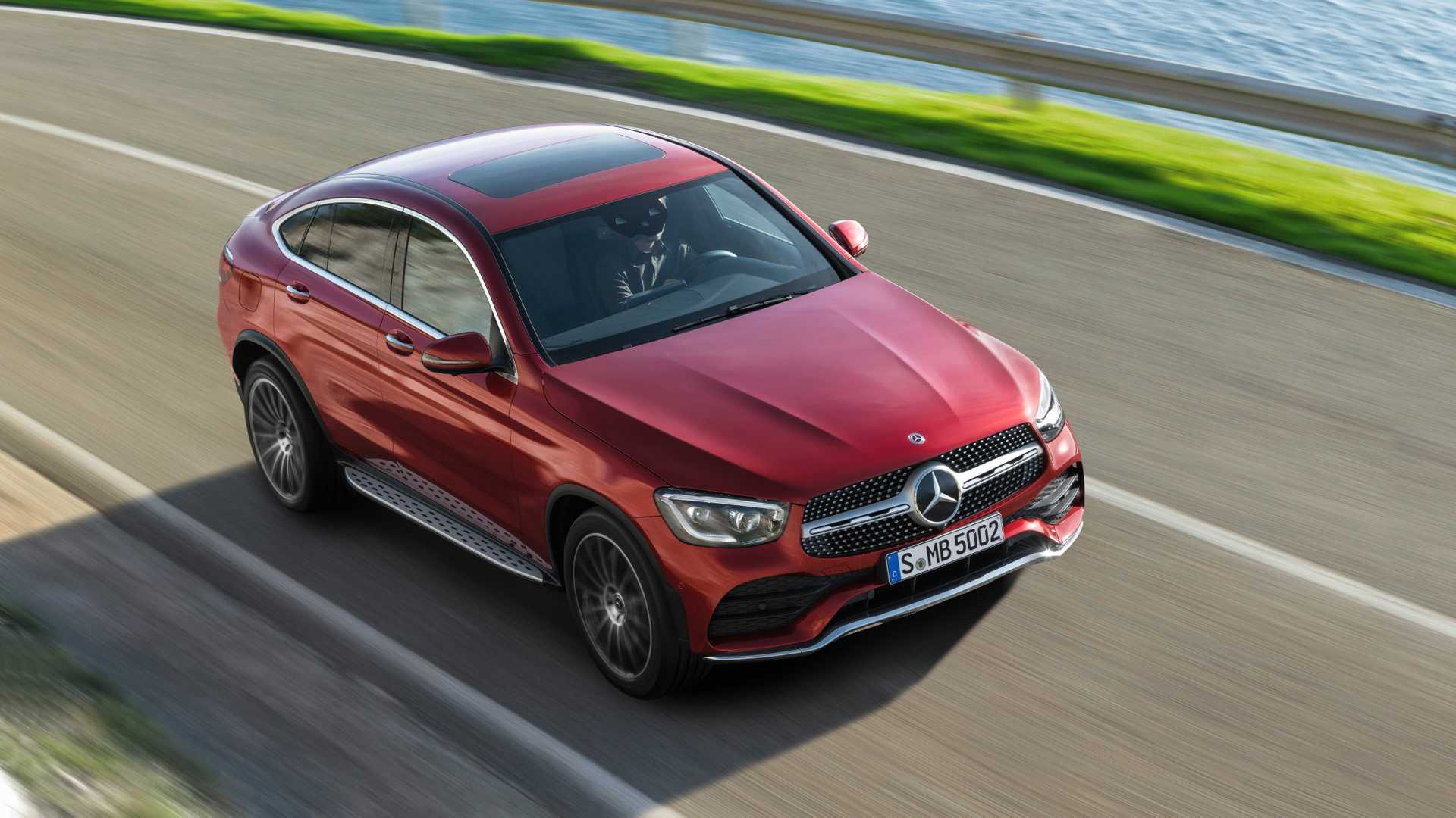 Mercedes Glc Coupe 2019 Rojo 024