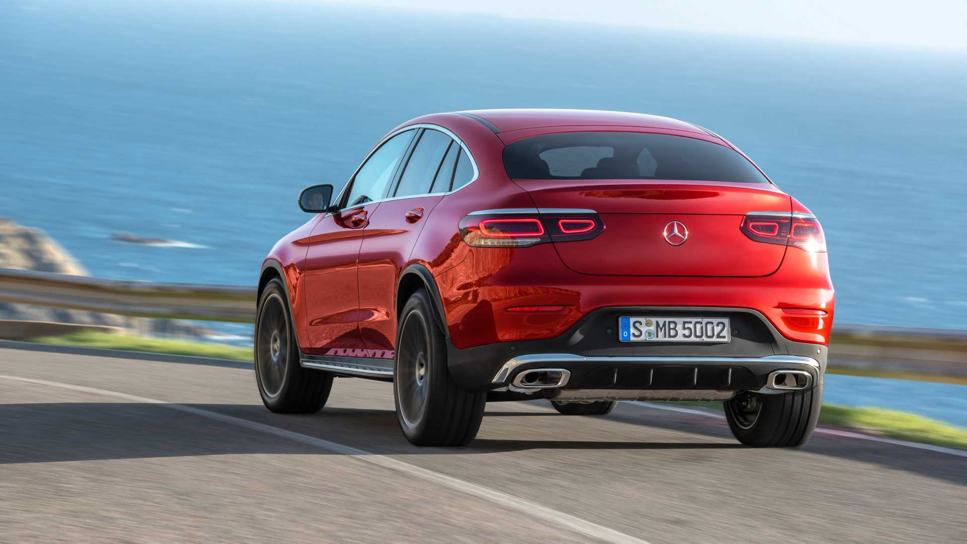 Mercedes Glc Coupe 2019 Rojo 06
