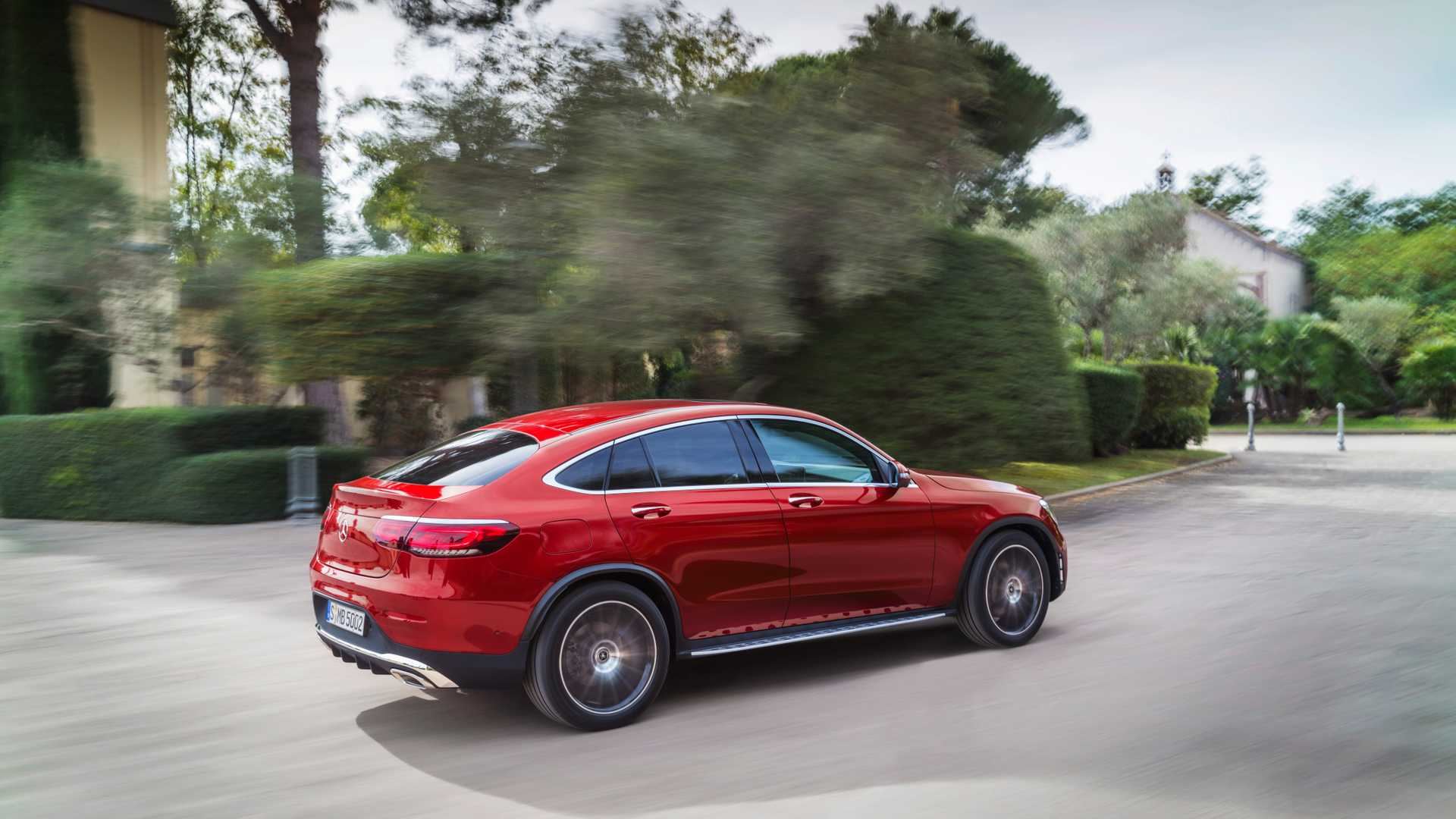 Mercedes Glc Coupe 2019 Rojo 08