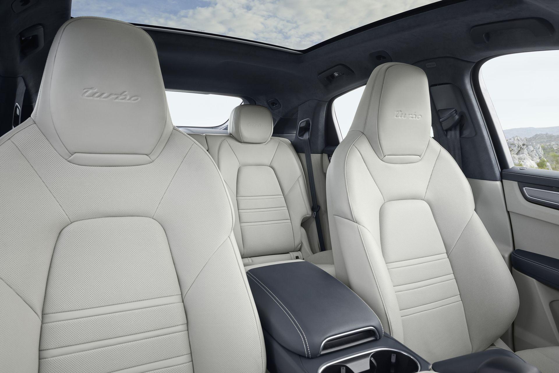 Porsche Cayenne Coupe 3 Interior