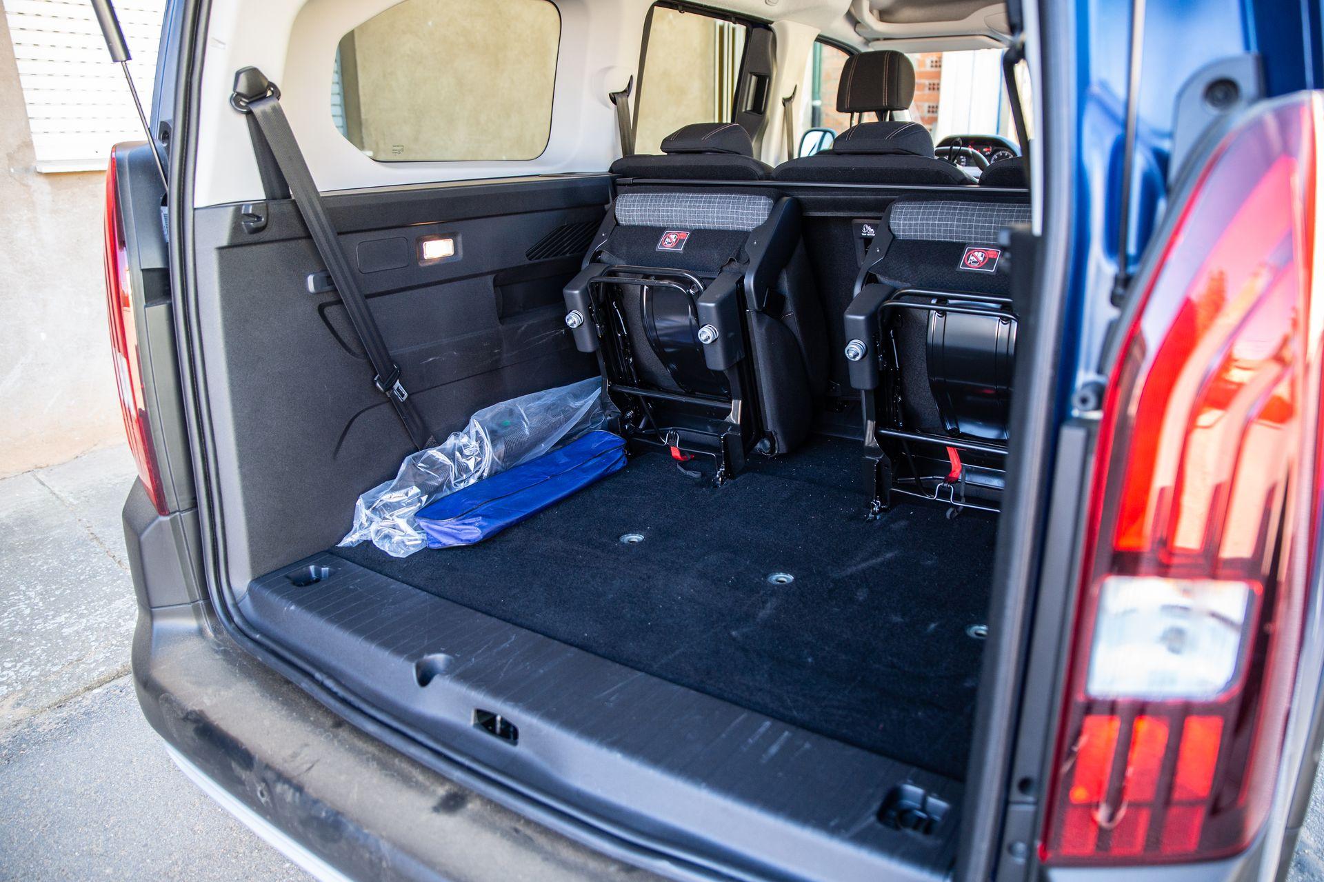 Prueba Peugeot Rifter Long Interior 4