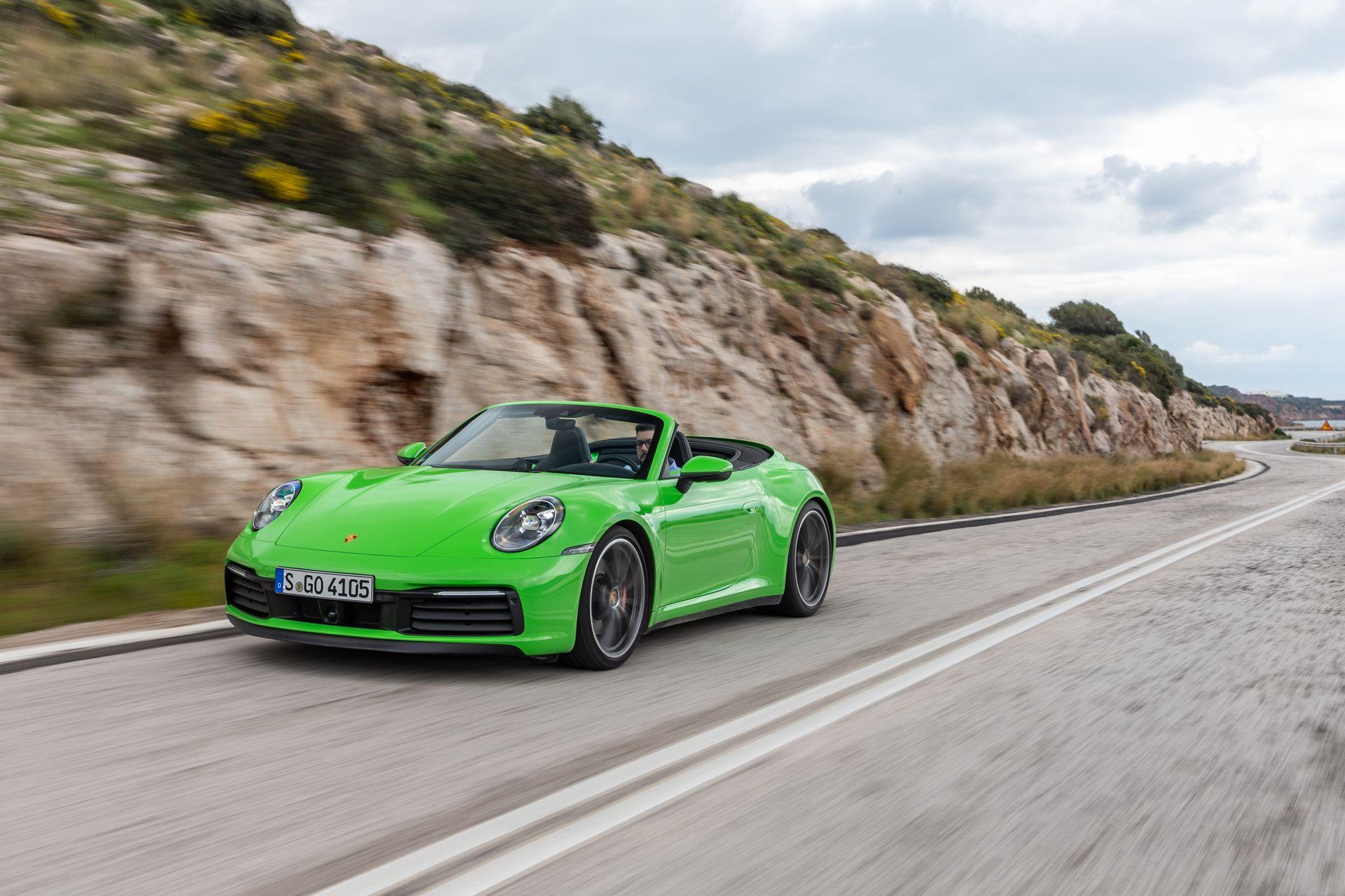 Prueba Porsche 992 Cabriolet 4