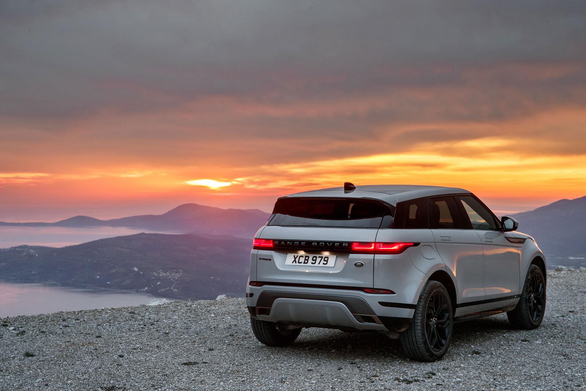 Range Rover Evoque 2019 Gris Exterior 12