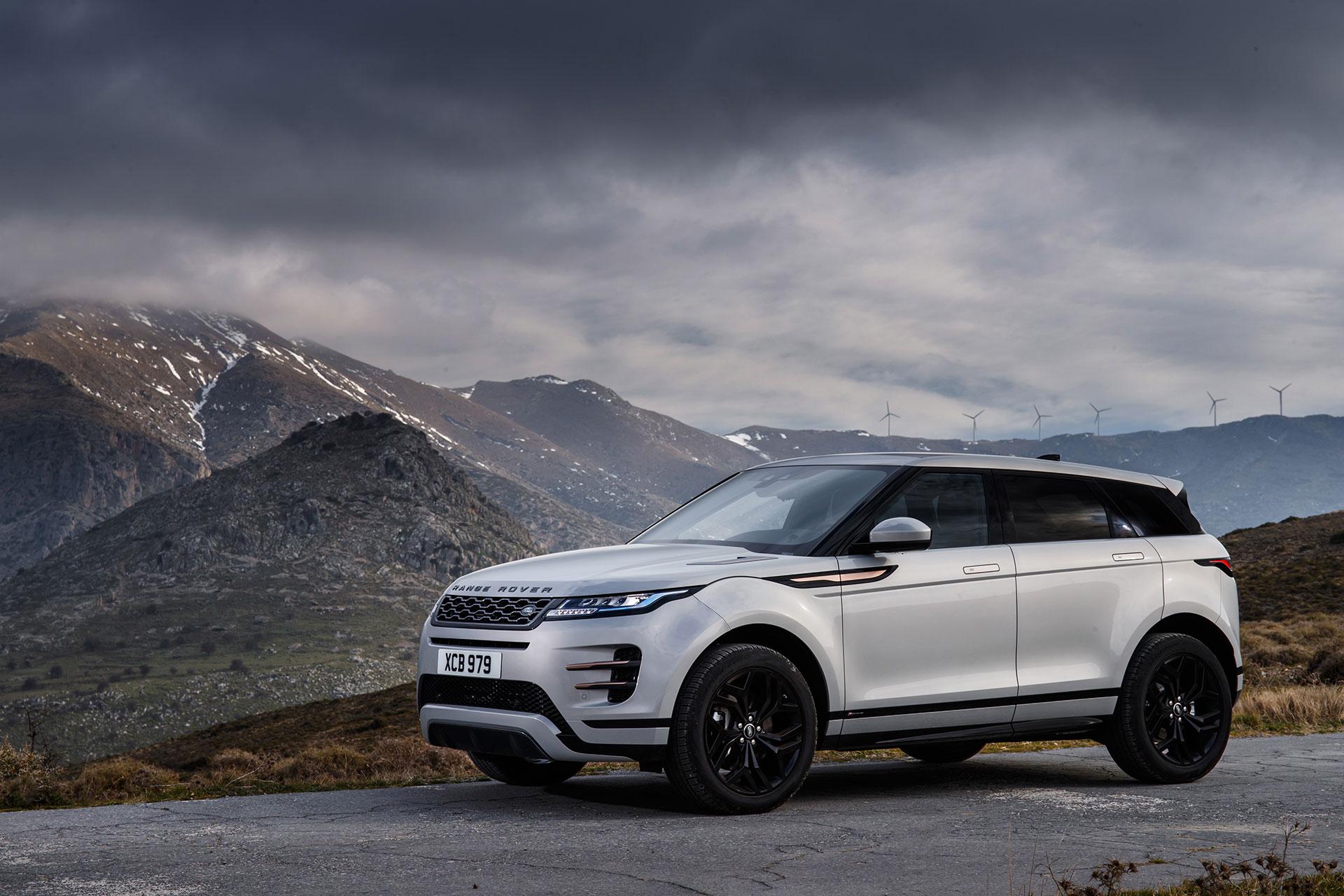 Range Rover Evoque 2019 Gris Exterior 18