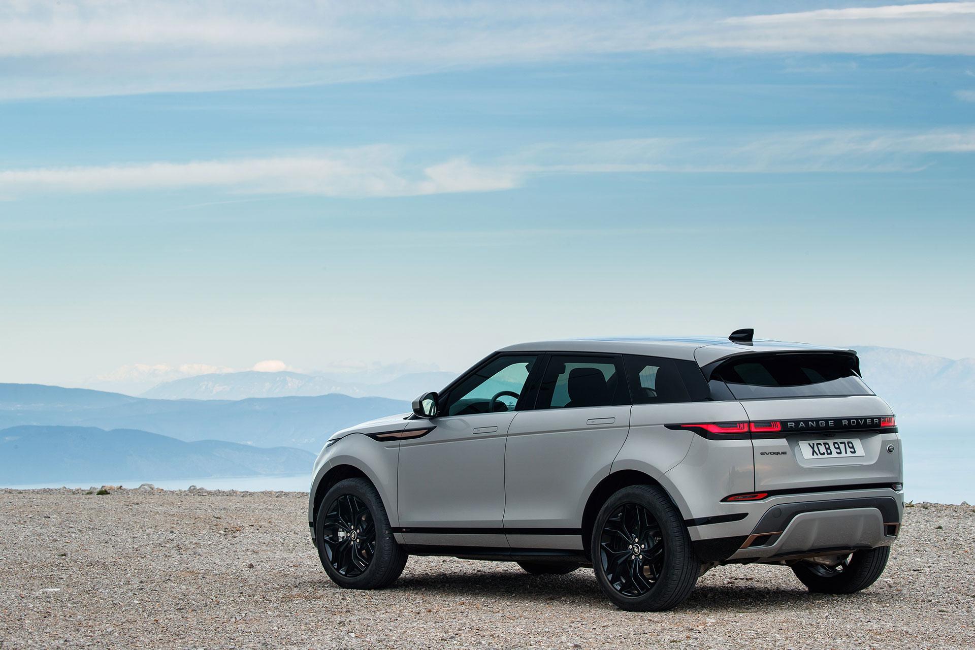 Range Rover Evoque 2019 Gris Exterior 19