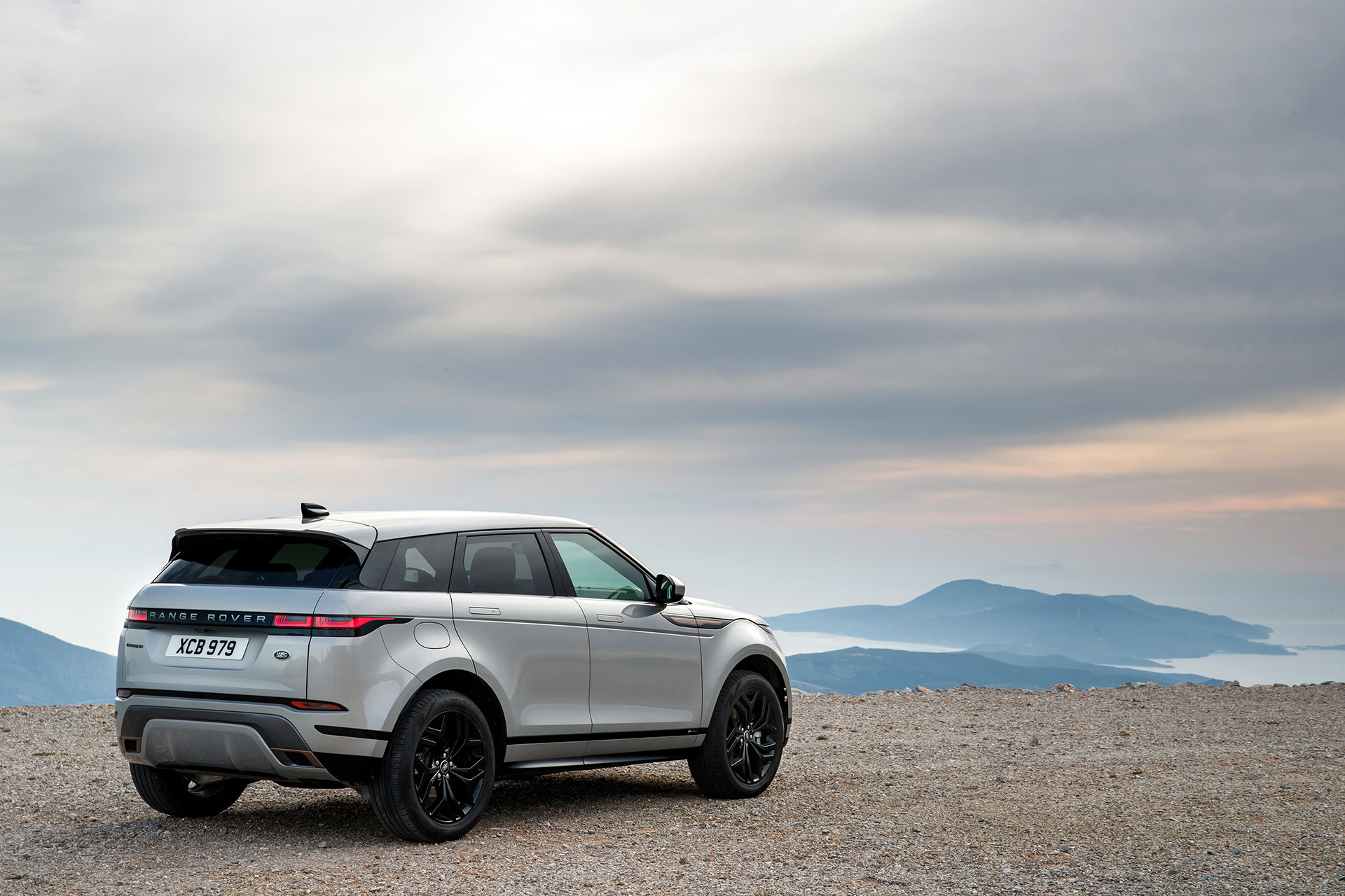 Range Rover Evoque 2019 Gris Exterior 20