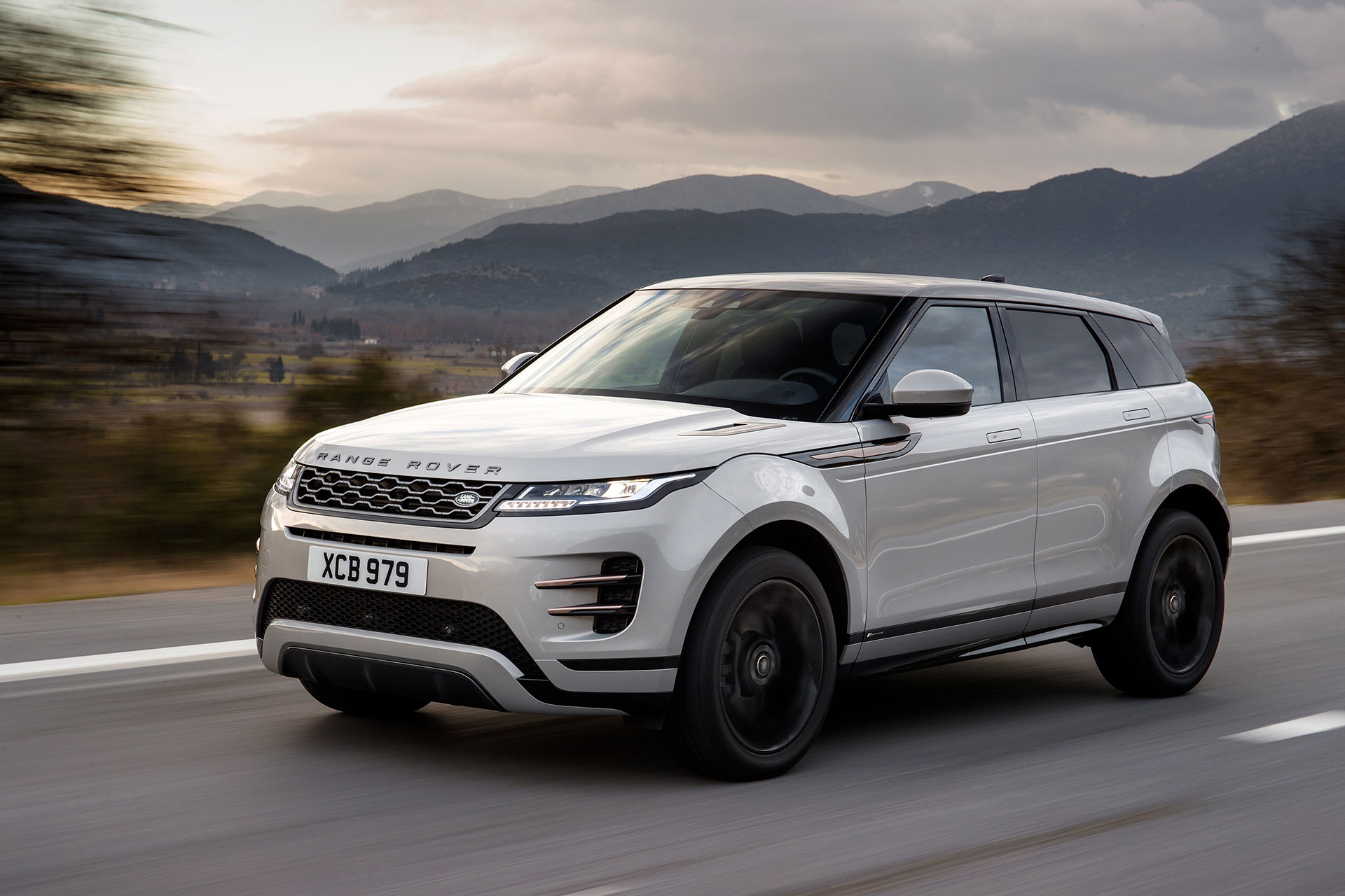 Range Rover Evoque 2019 Gris Movimiento 16