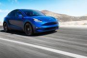 Tesla Model Y 2019 Azul Frontal Exterior thumbnail
