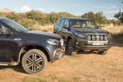 Comparativa 4x4 Toyota Land Cruiser Mercedes Clase X 00002 thumbnail
