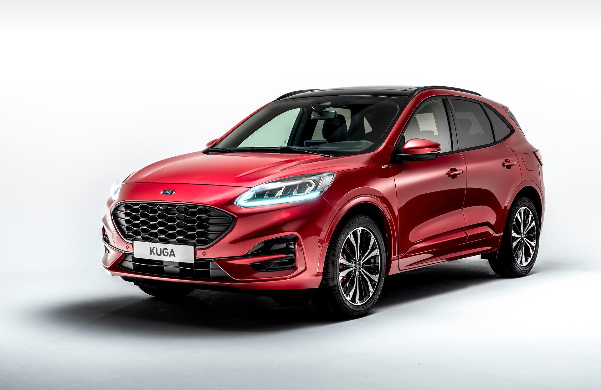 Ford Kuga 2019 Rojo Exterior 01