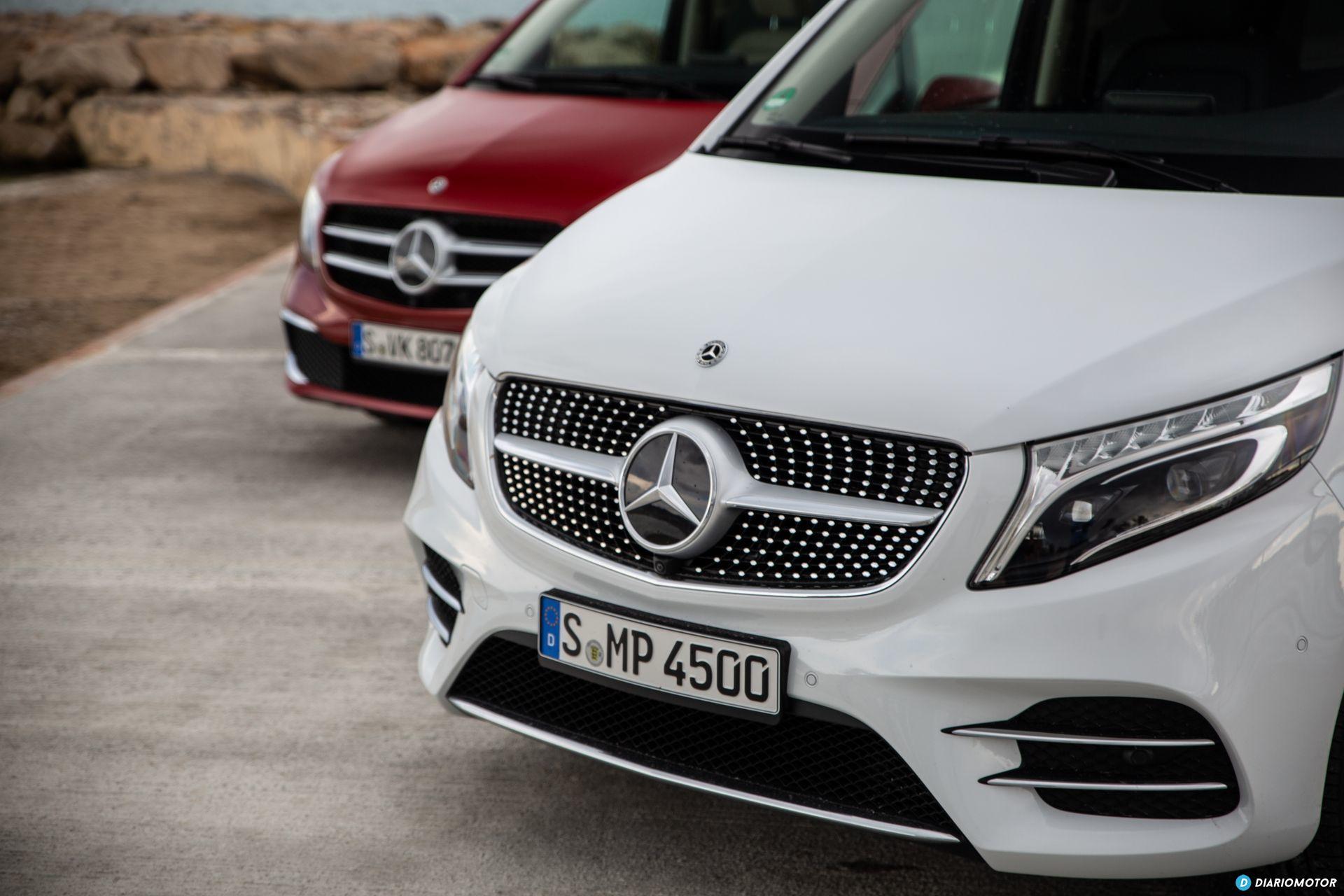 Prueba Mercedes Clase V 2019 20