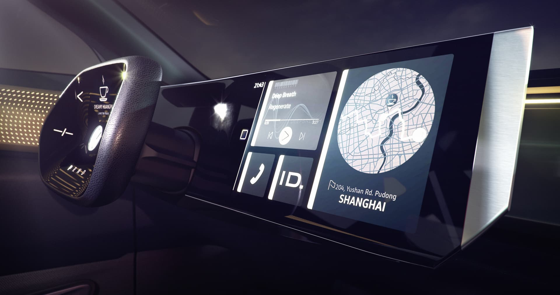 Volkswagen ID Roomzz Concept (2019) 26