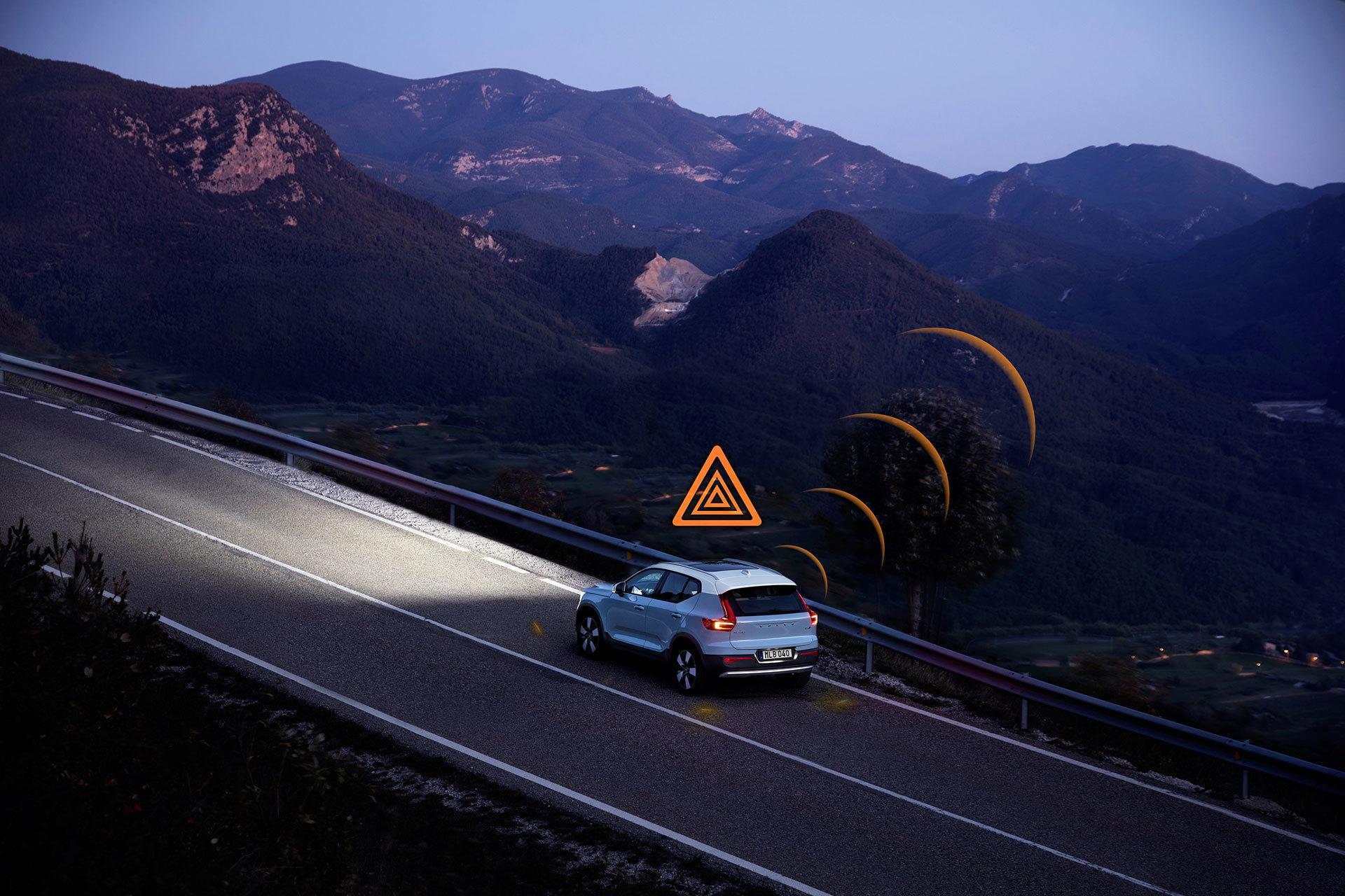 Volvo Slippery Road Alert 01