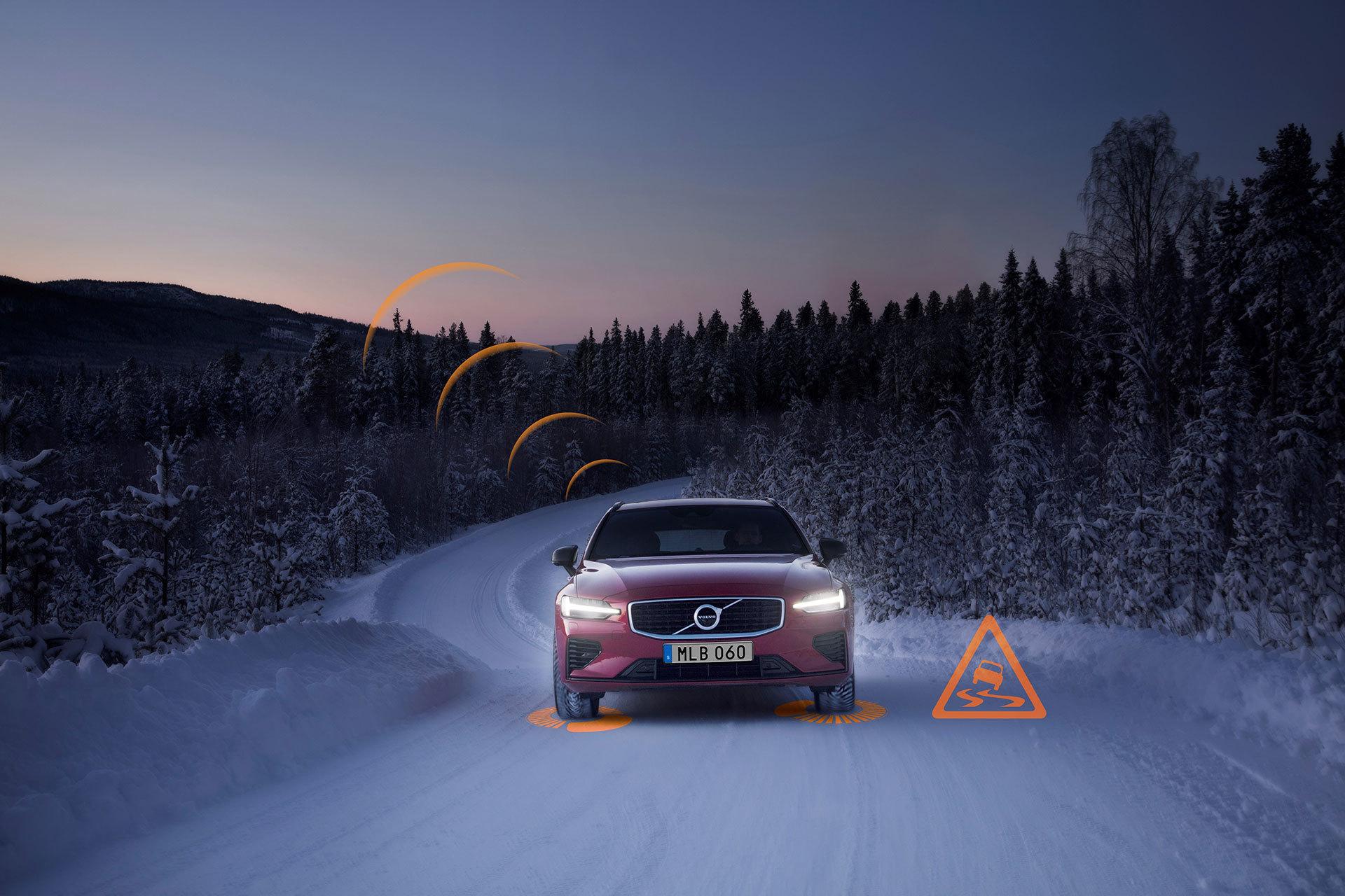 Volvo Slippery Road Alert 02