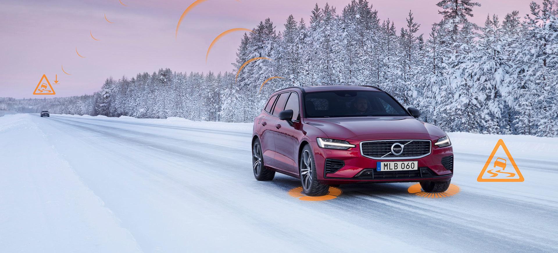 Volvo Slippery Road Alert 03