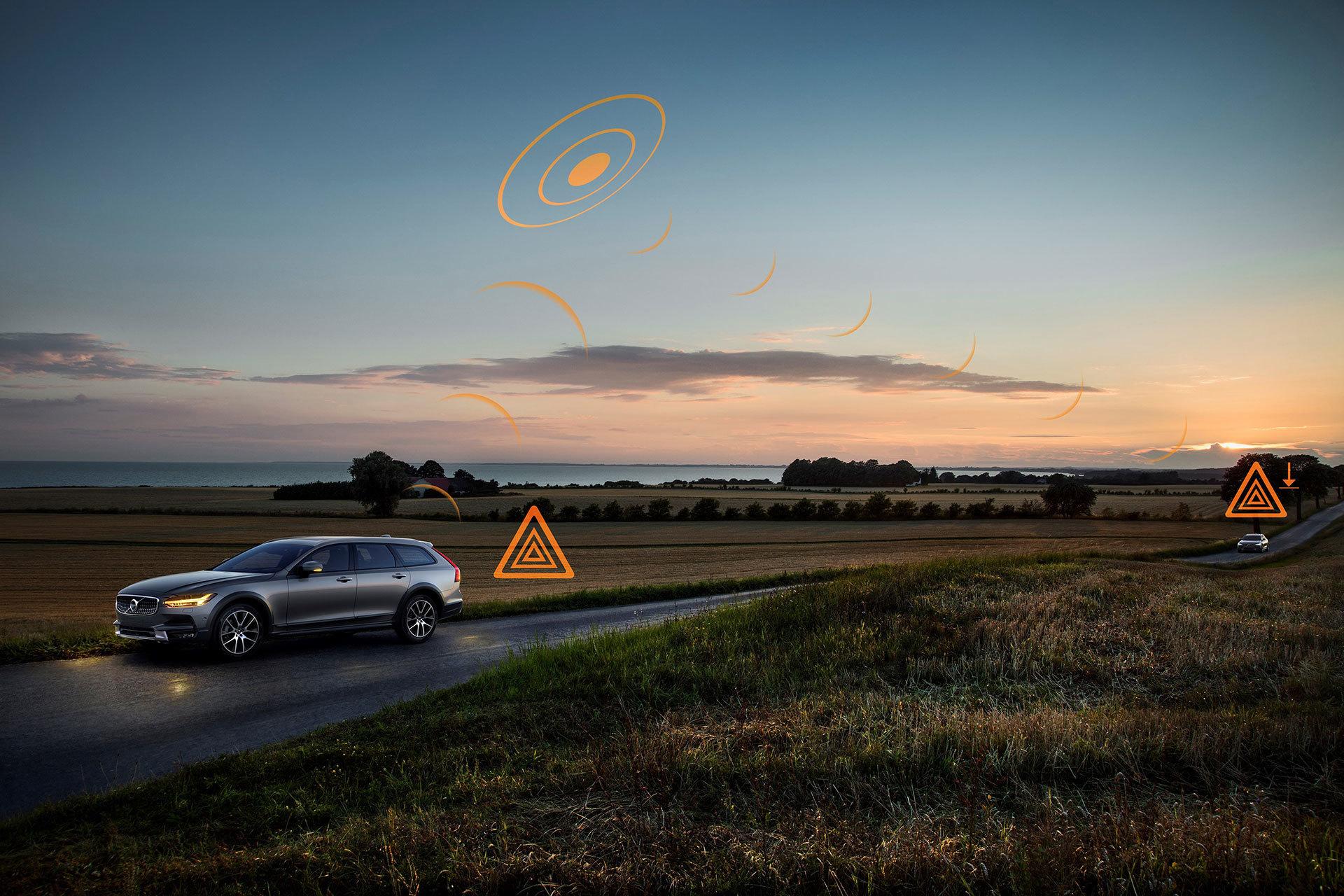 Volvo Slippery Road Alert 04