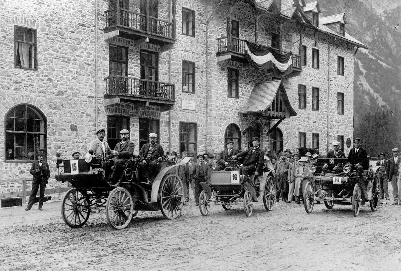 Ruta del Club Turístico Austria, 1898