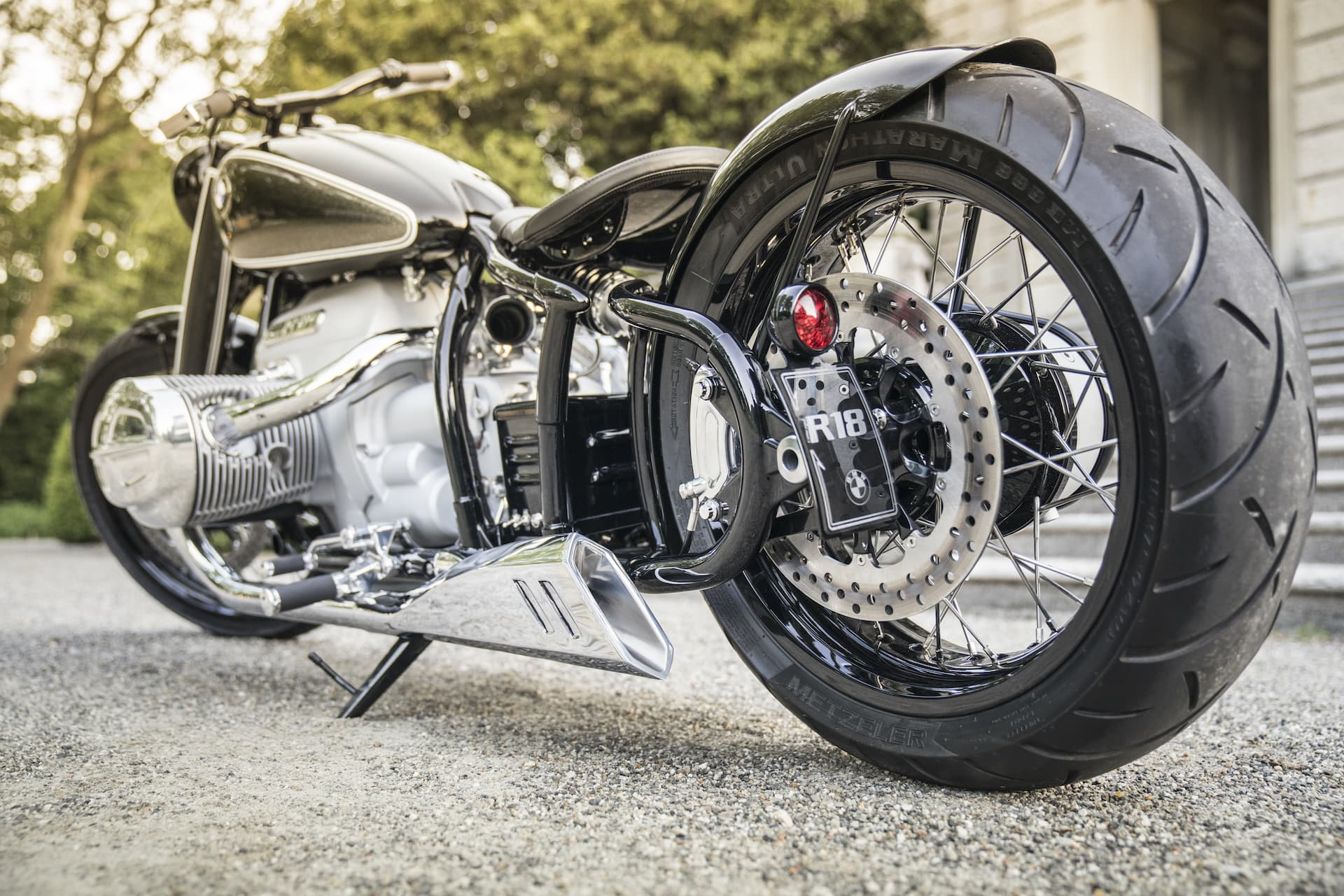Bmw Moto Custom Dm 13