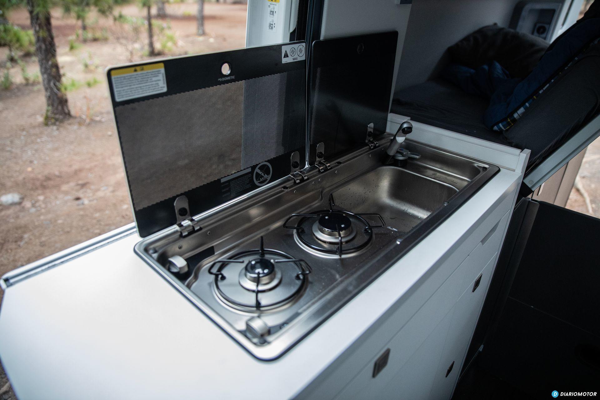 Cocina Volkswagen Grand California 3