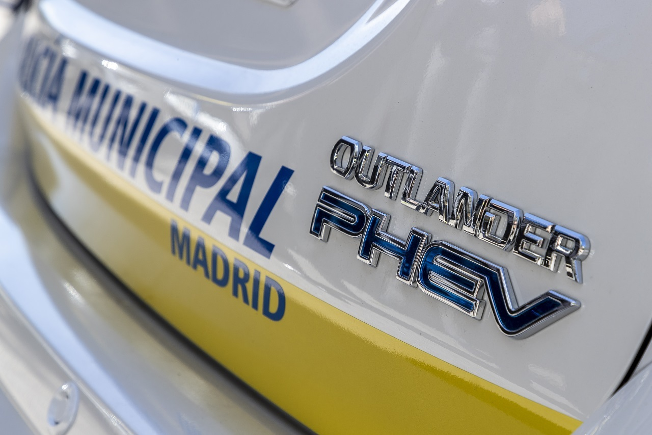 Mitsubishi Outlander Phev Policia Madrid 3