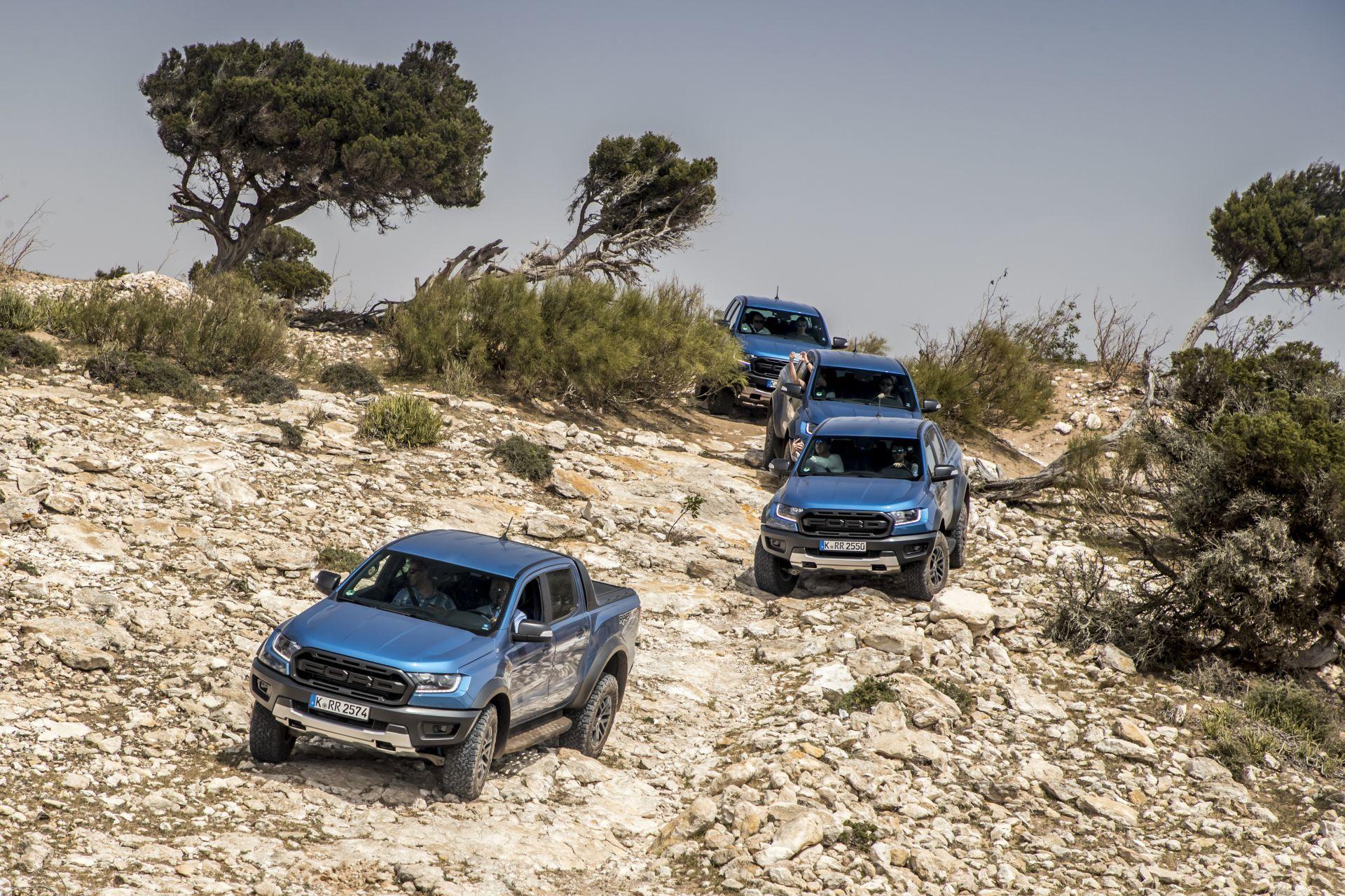 Prueba Ford Ranger Raptor 2019 2