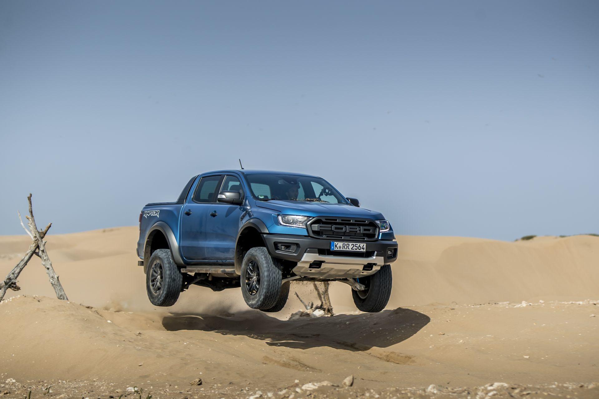 Prueba Ford Ranger Raptor 2019 3