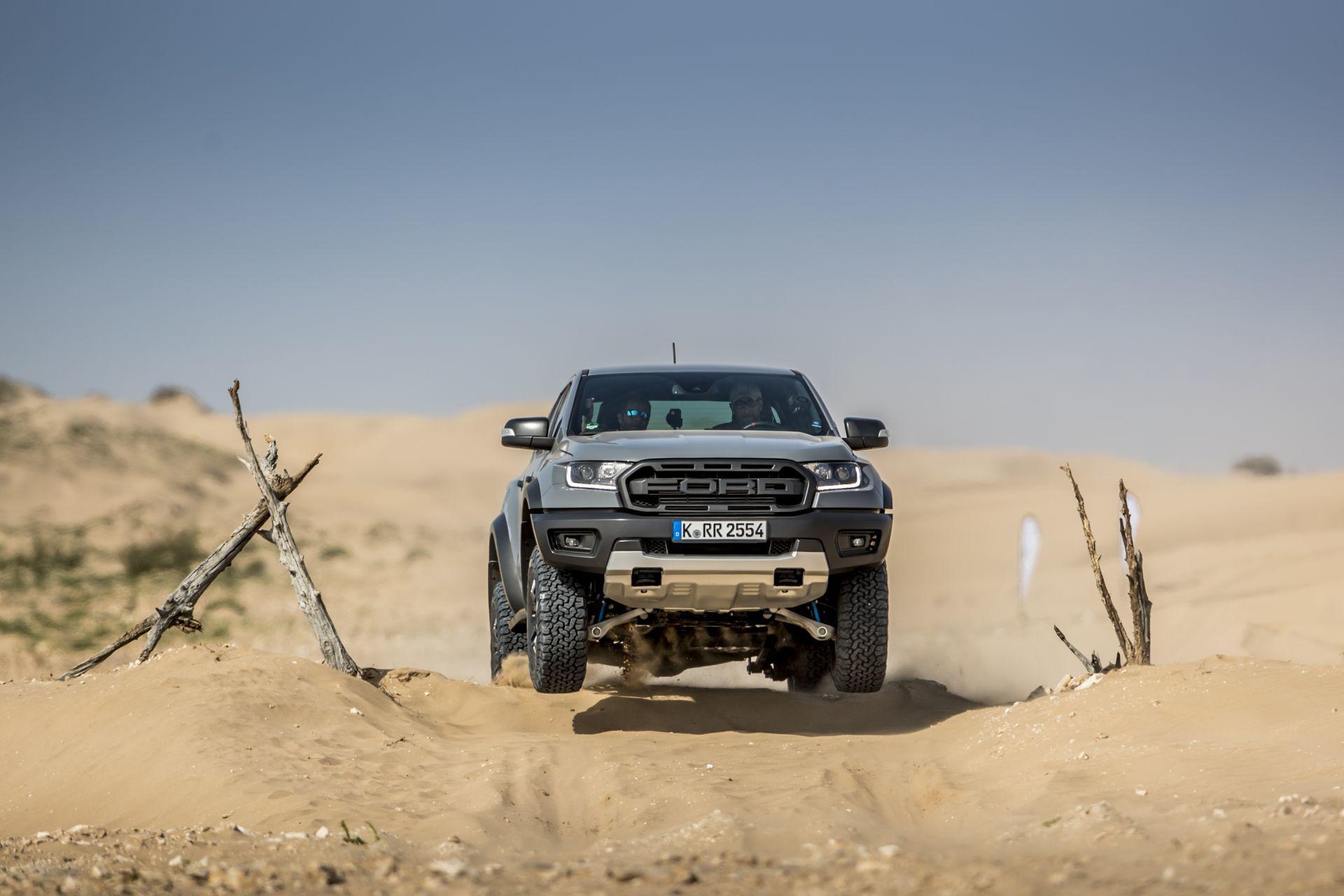 Prueba Ford Ranger Raptor 2019 4