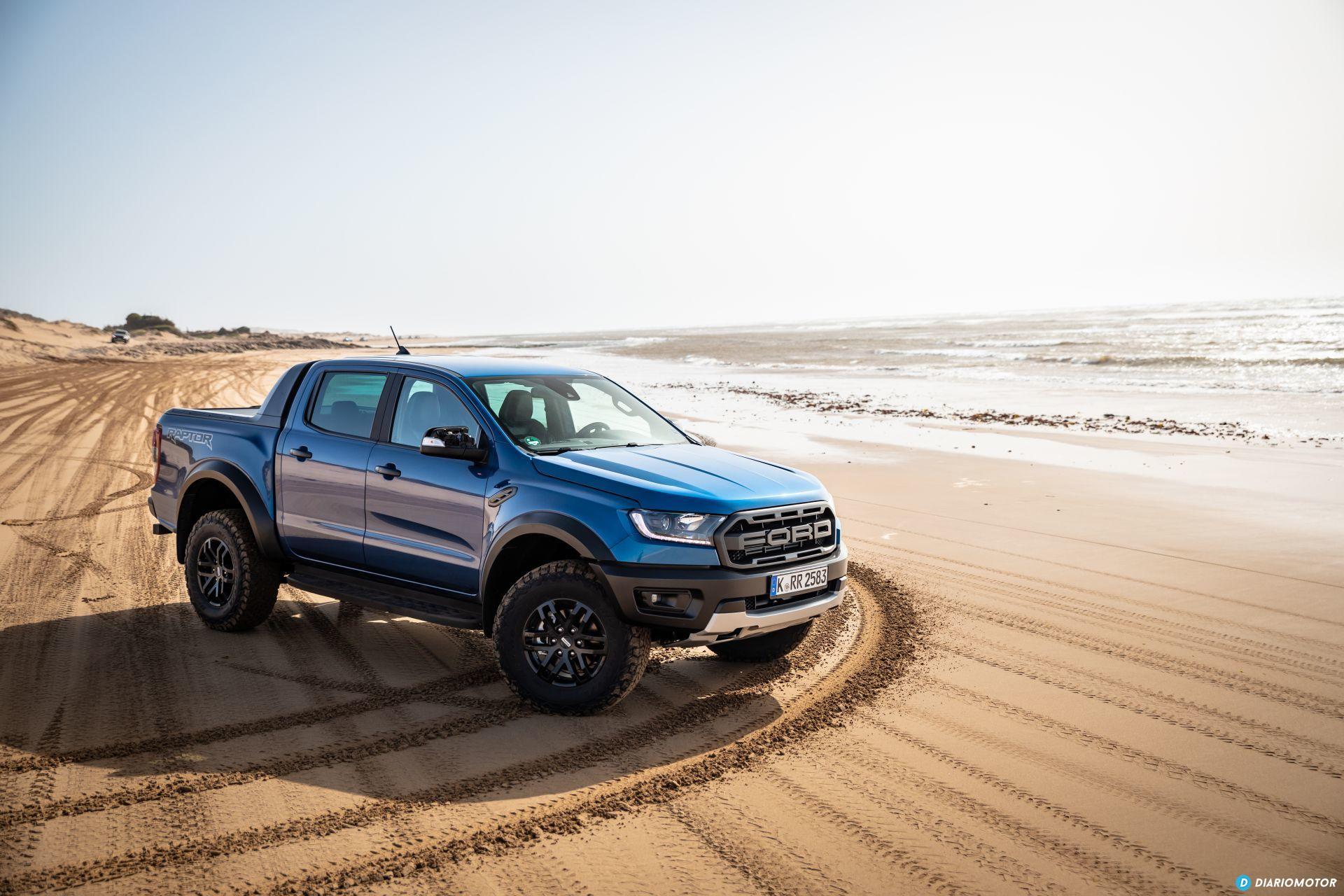 Prueba Ford Ranger Raptor 2019 8