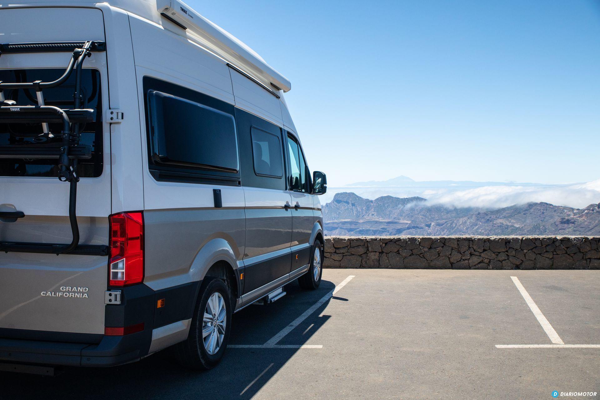Prueba Volkswagen Grand California 4
