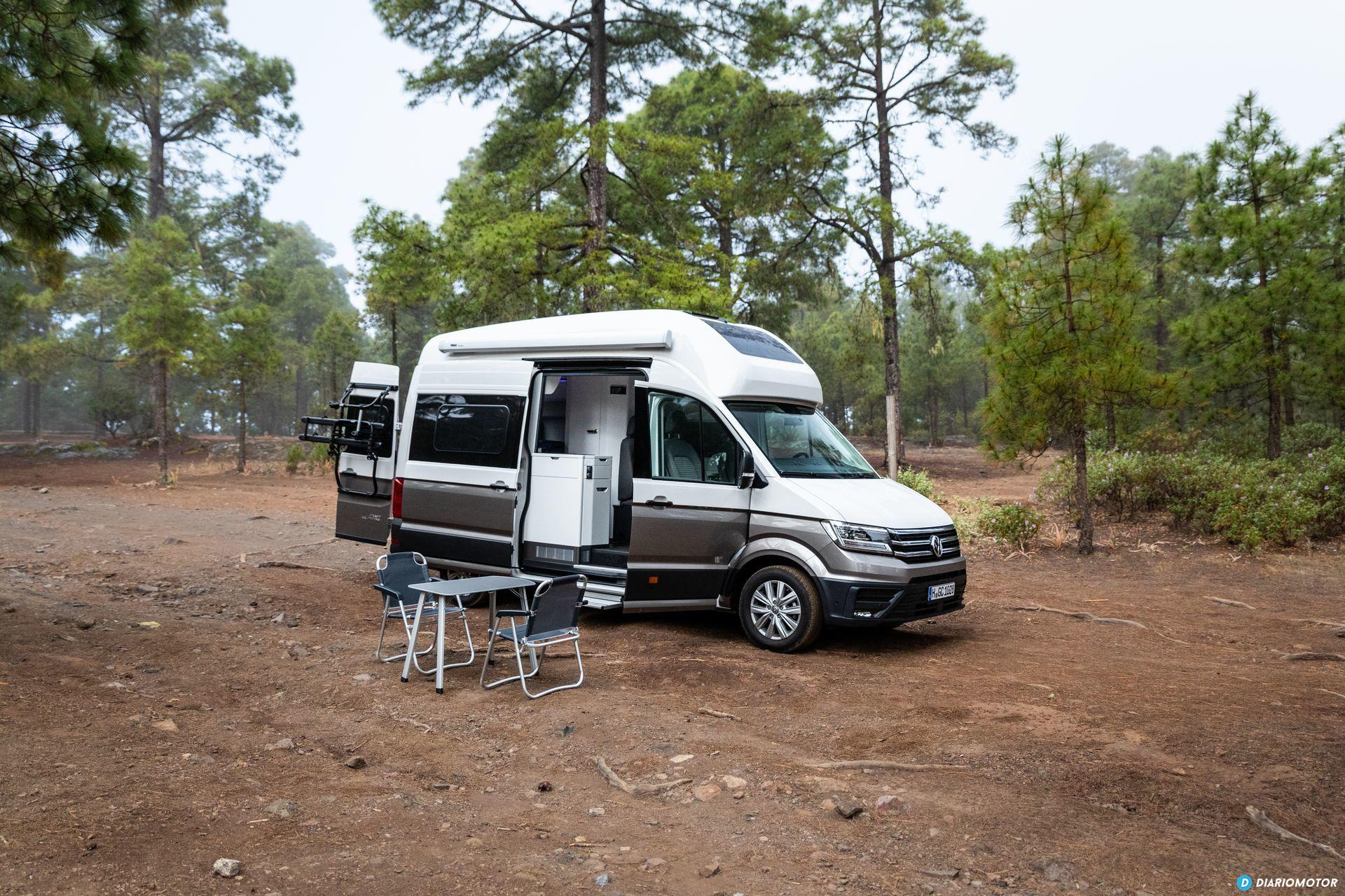 Prueba Volkswagen Grand California 41