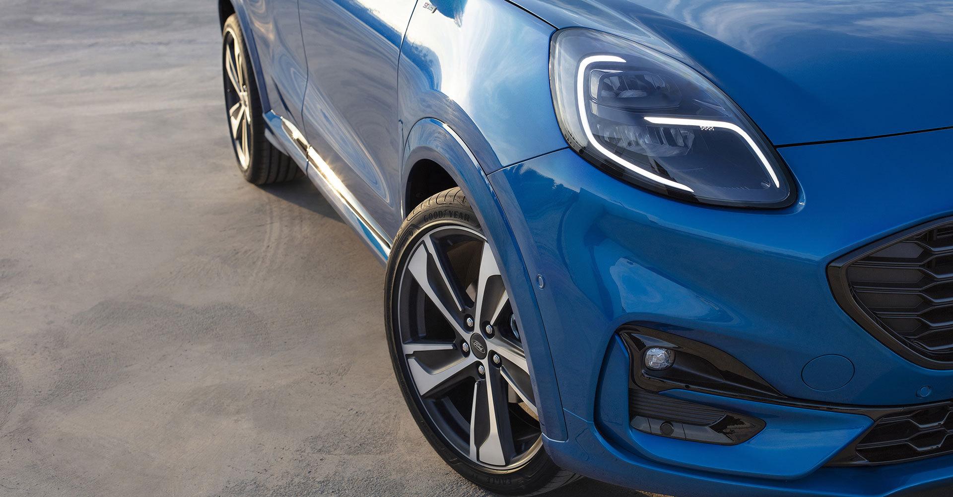 Ford Puma 2019 Detalles Exterior Azul 04