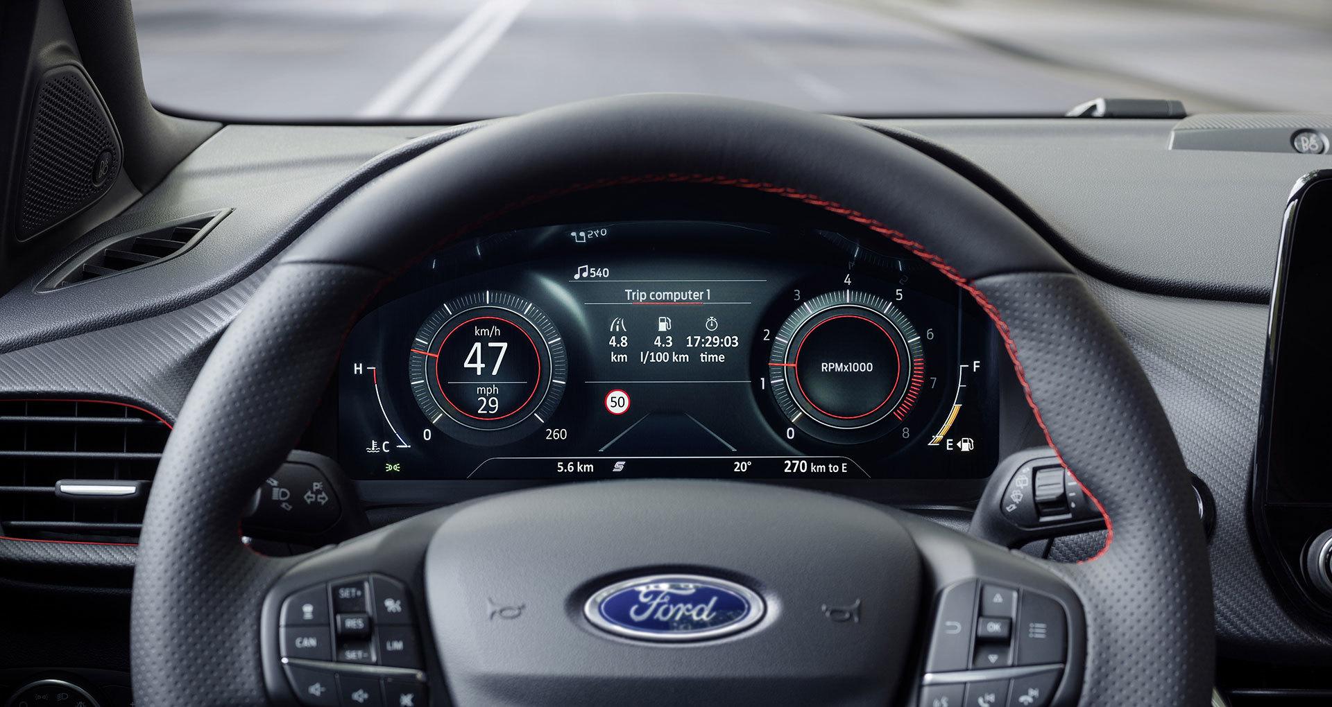 Ford Puma 2019 Interior 03