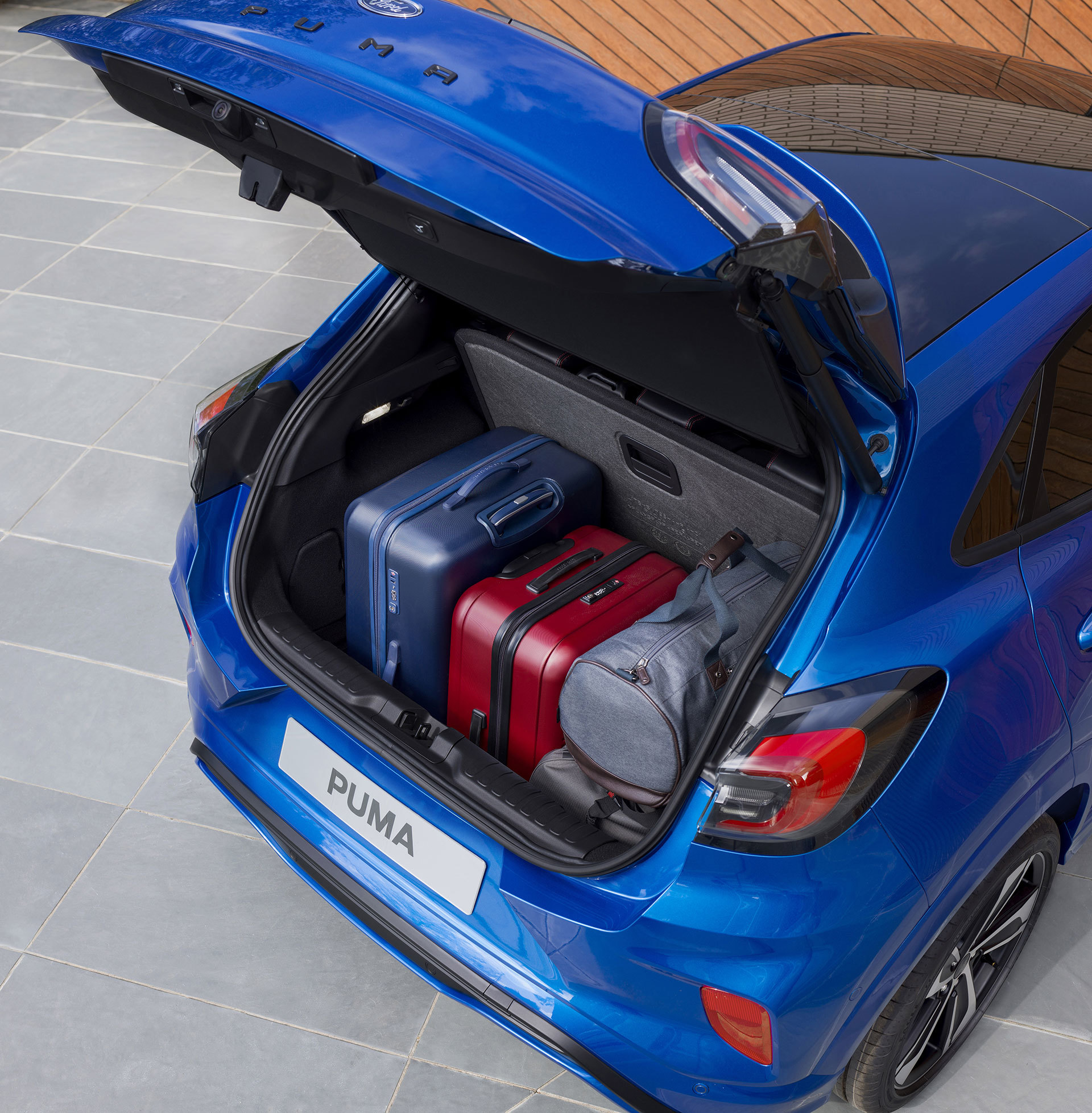 Ford Puma 2019 Maletero 02