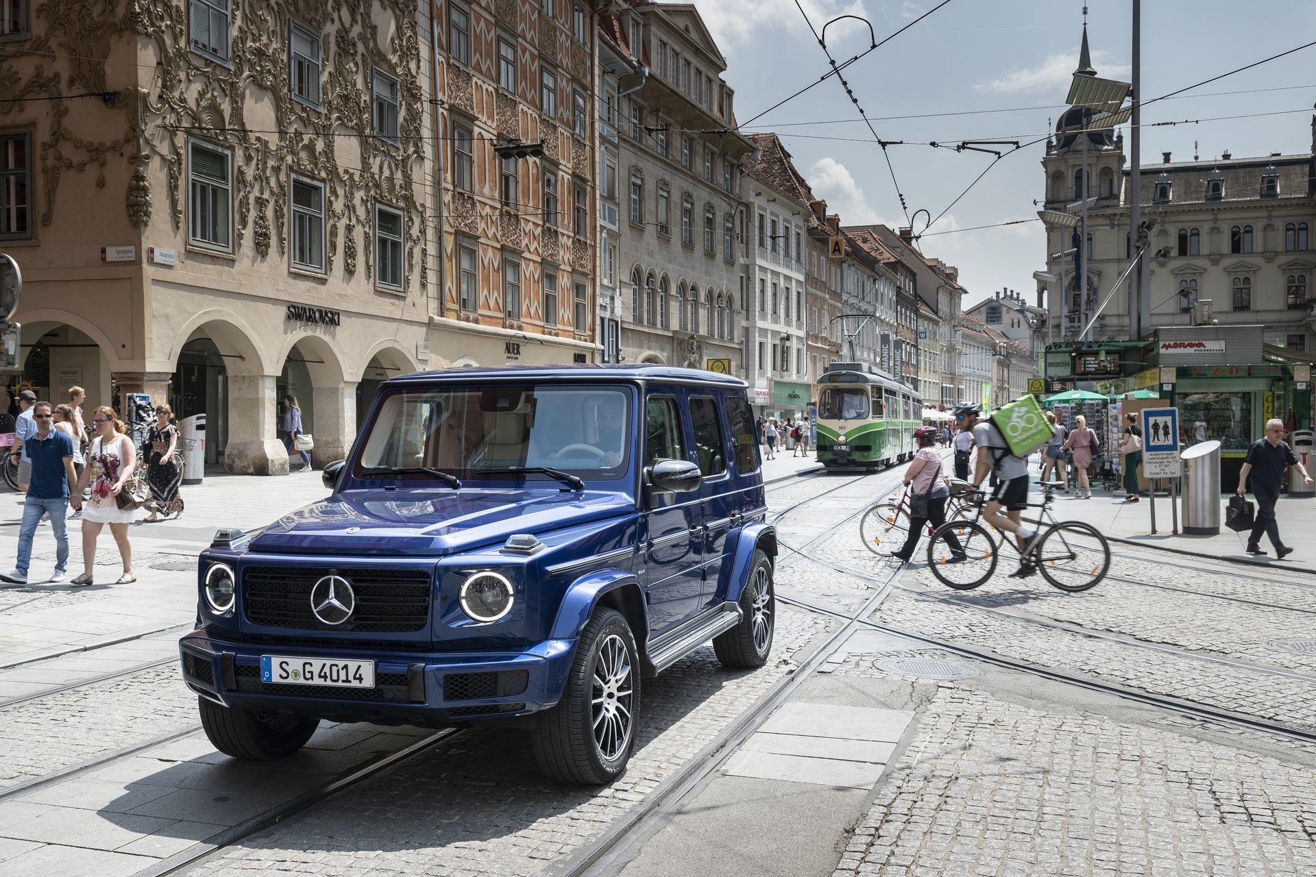 Mercedes Benz 40 Years Of The G Class, Graz 2019 Mercedes Benz 40 Years Of The G Class, Graz 2019