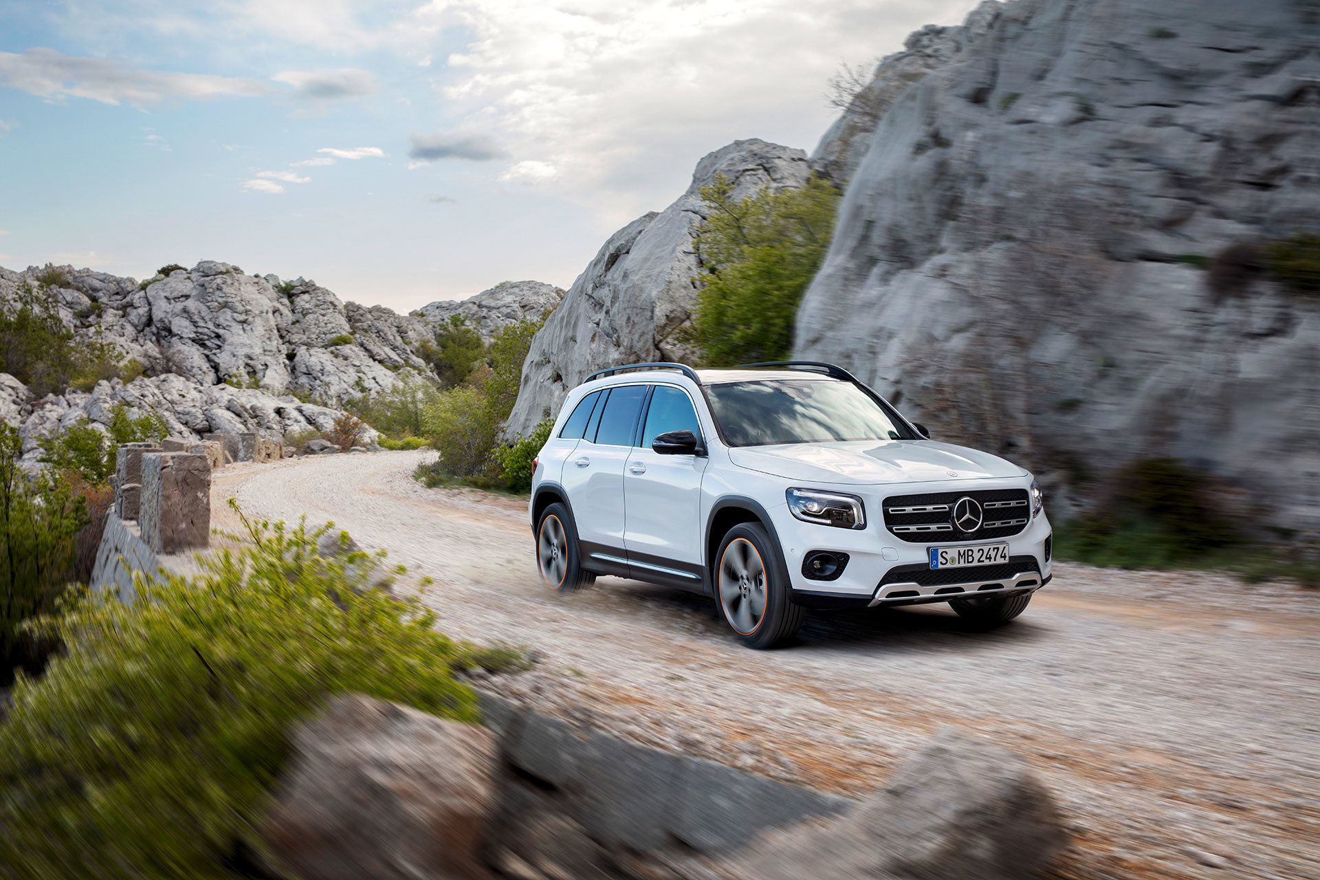 Mercedes Glb 2020 Blanco 05