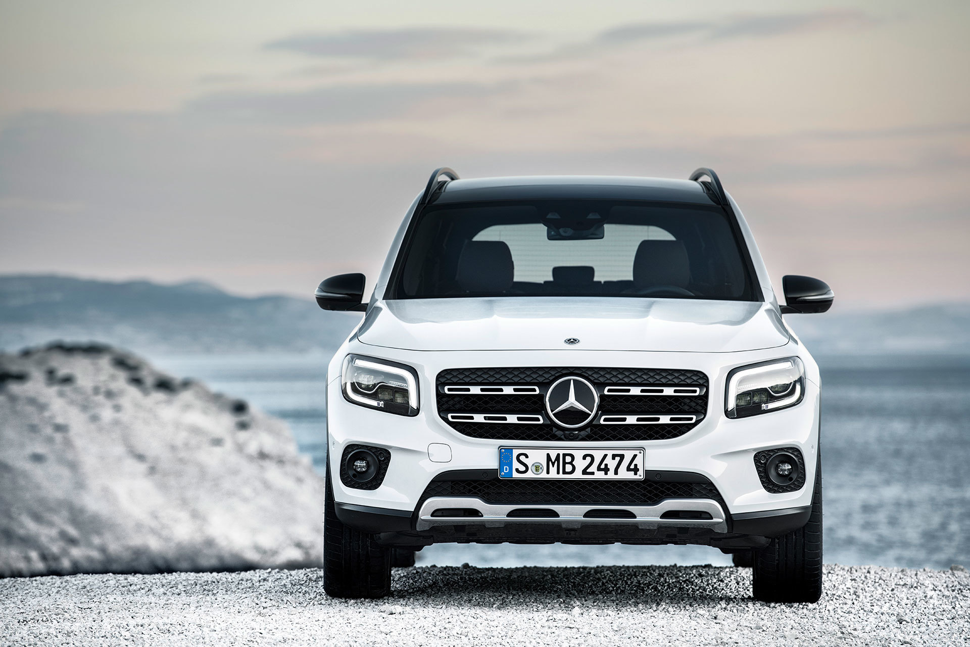 Mercedes Glb 2020 Blanco 08