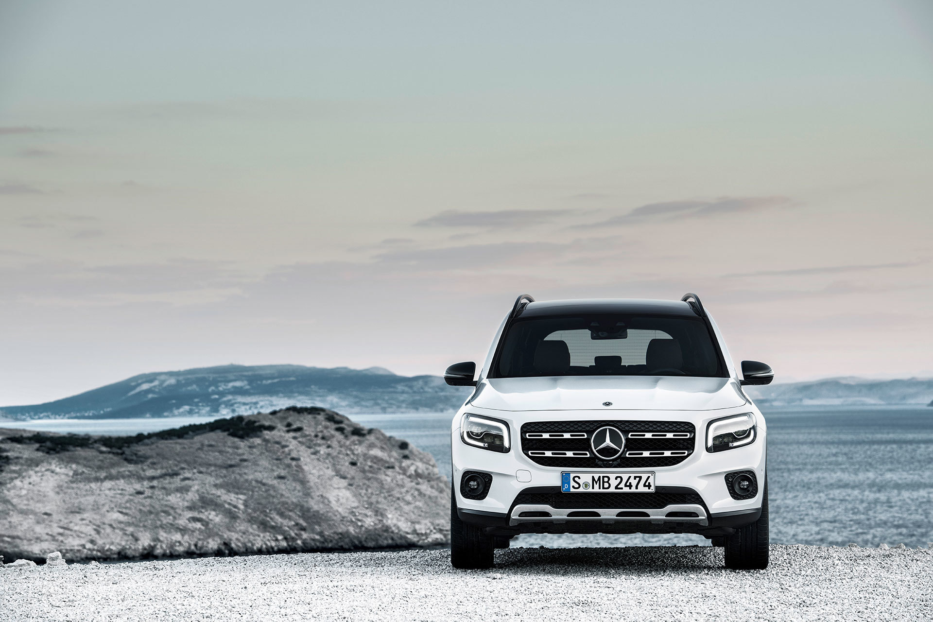 Mercedes Glb 2020 Blanco 09