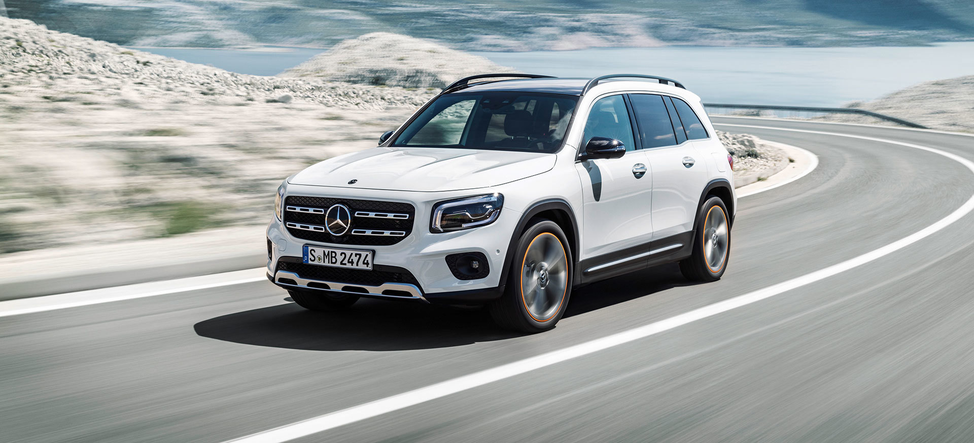 Mercedes Glb 2020 Blanco 16