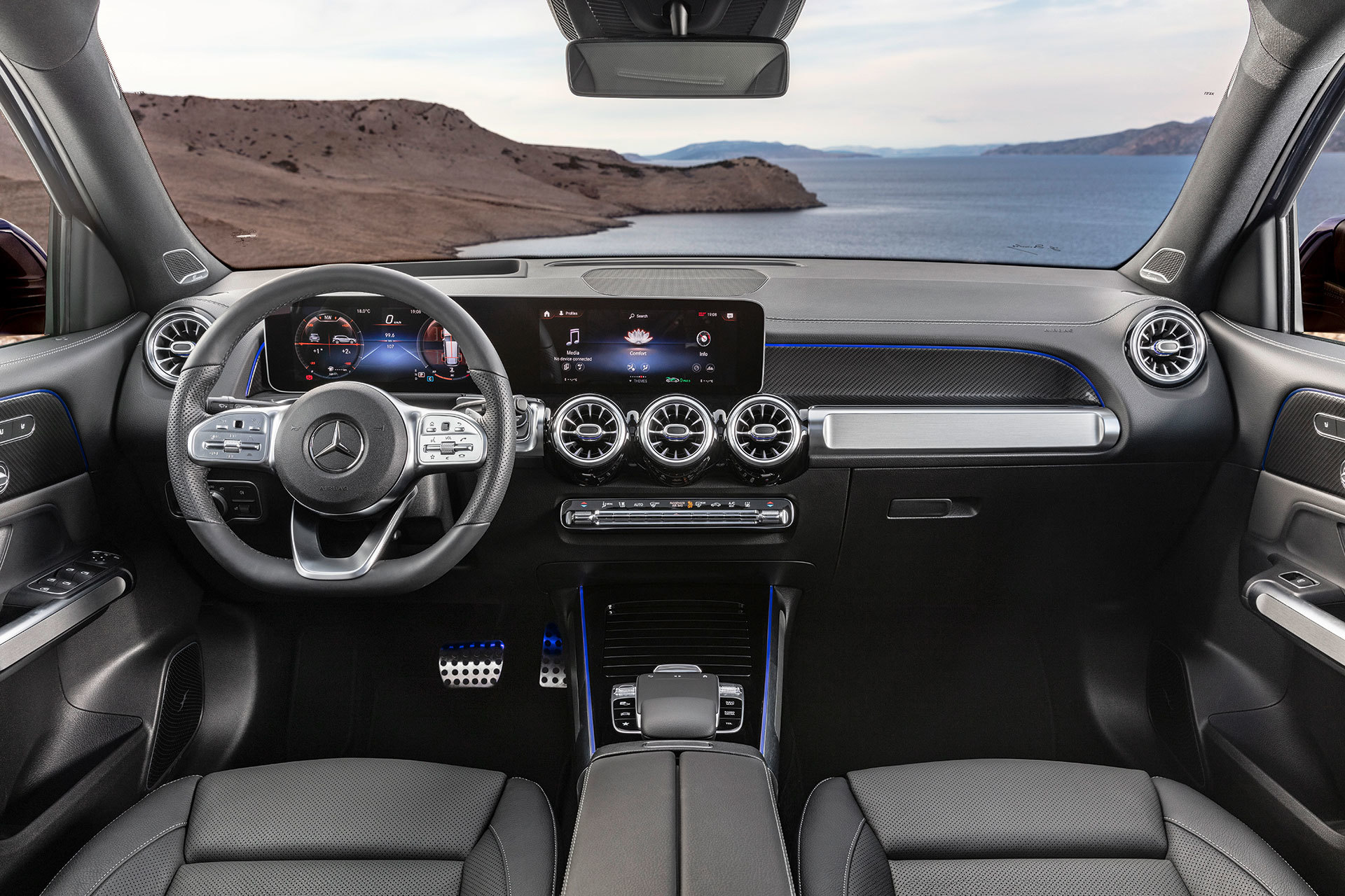 Mercedes Glb 2020 Interior 04