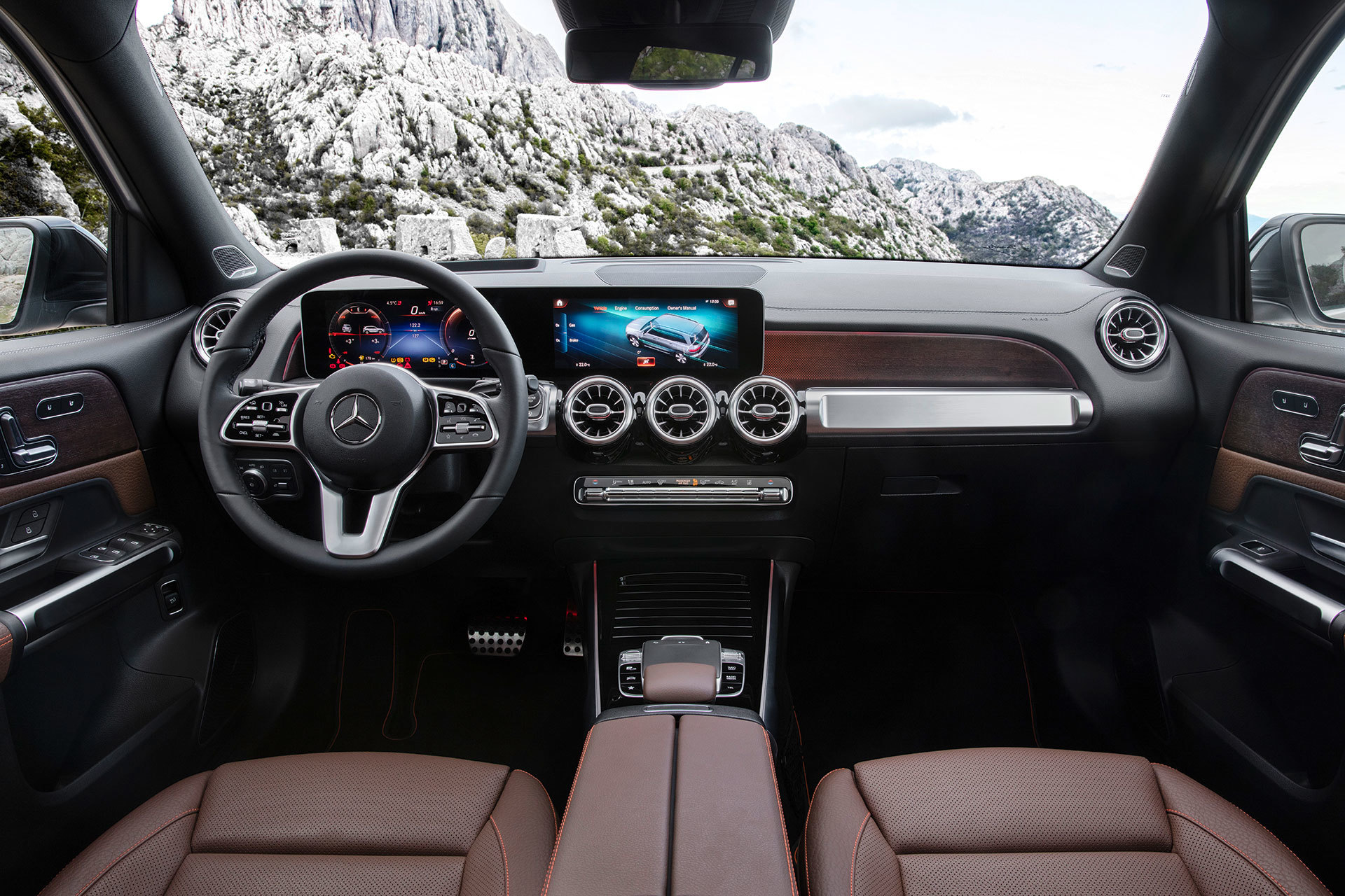 Mercedes Glb 2020 Interior 05