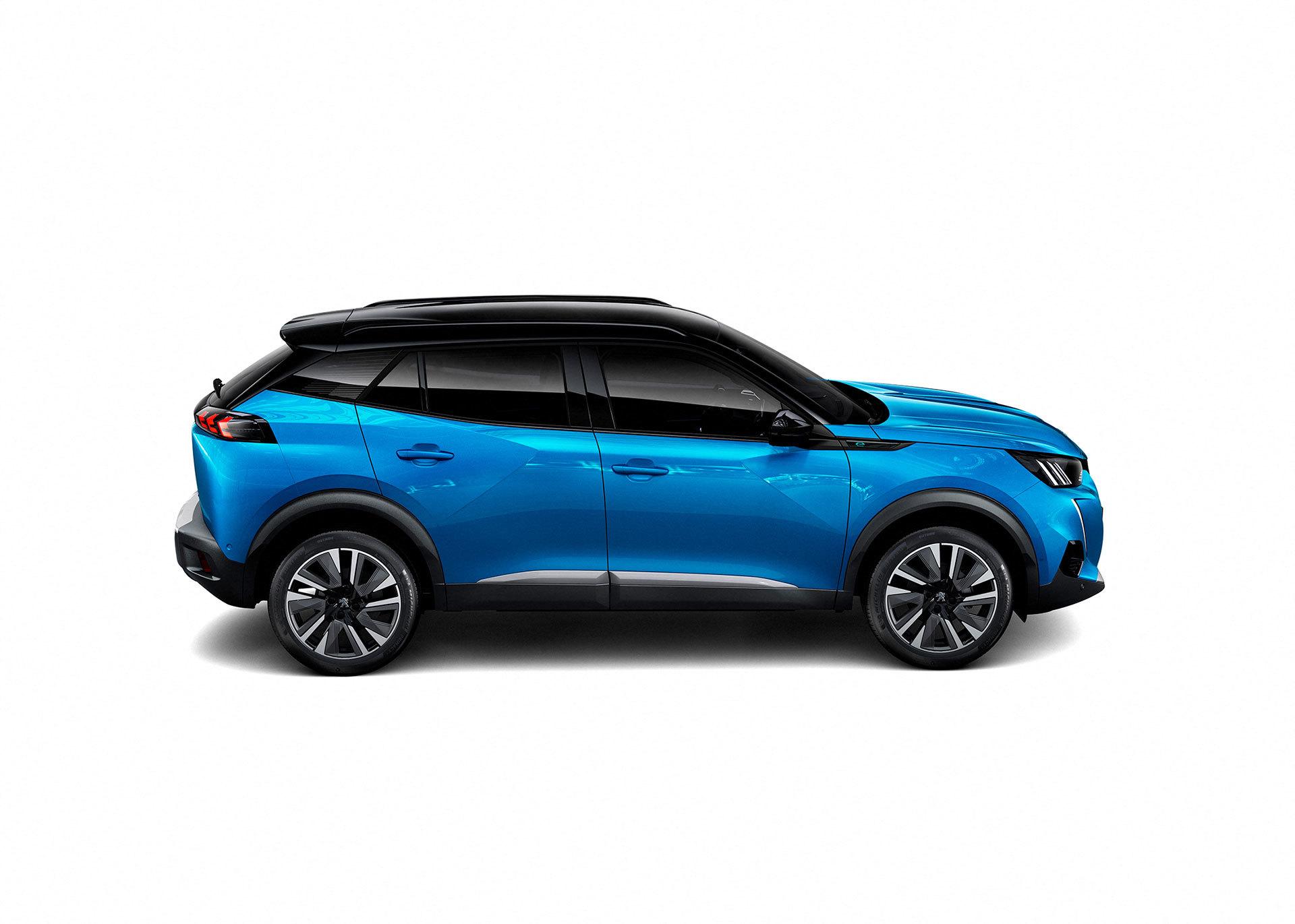 Peugeot 2008 Exterior Azul 2019 01