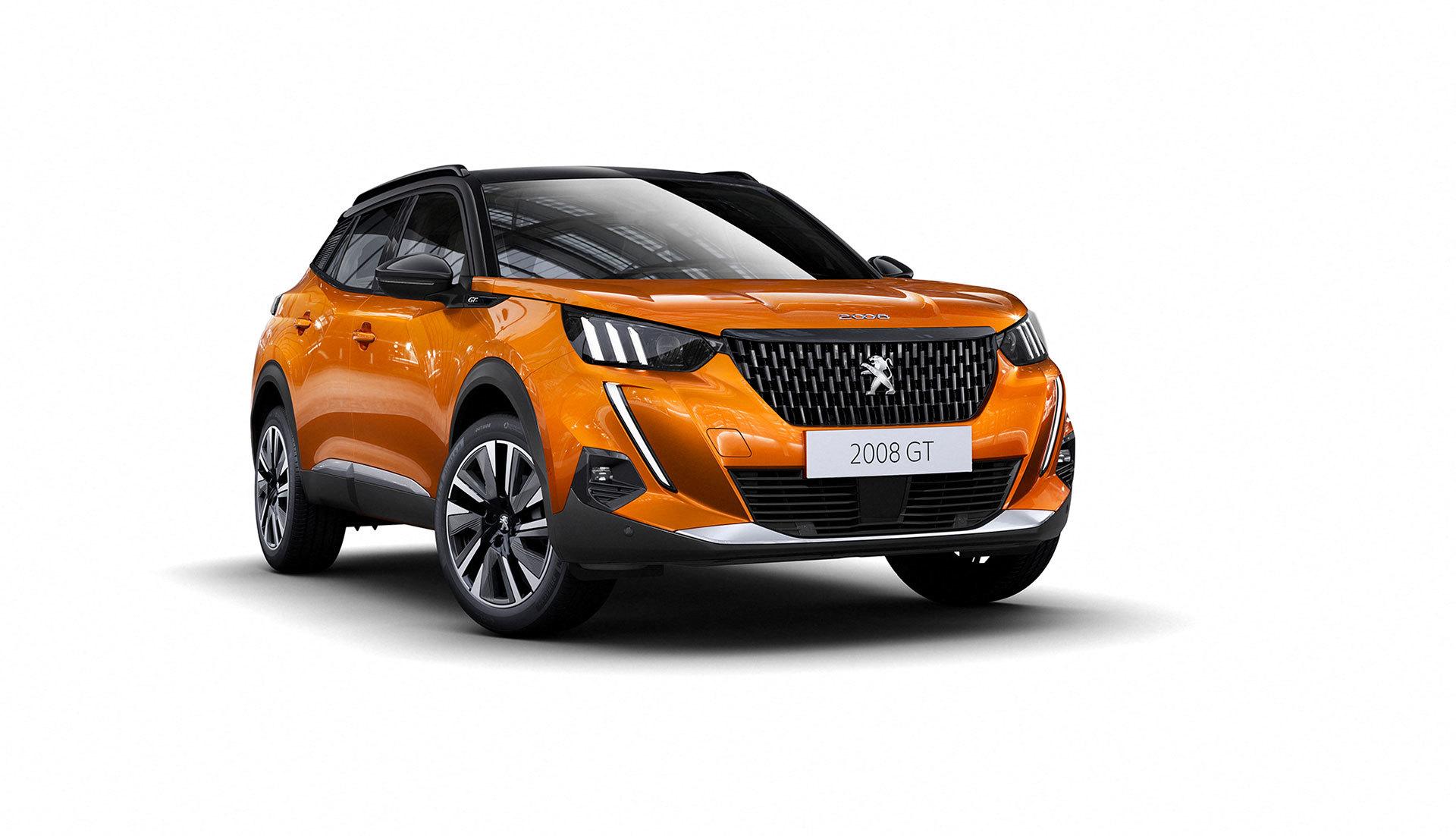 Peugeot 2008 Exterior Naranja 2019 02