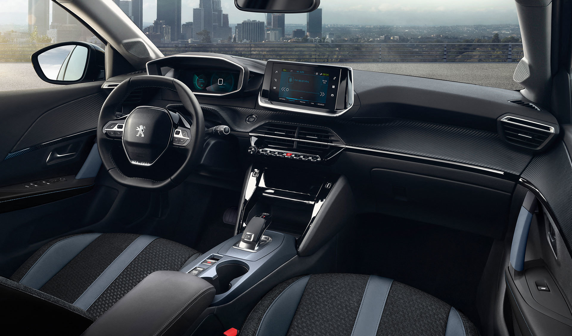 Peugeot 2008 Interior 2019 02
