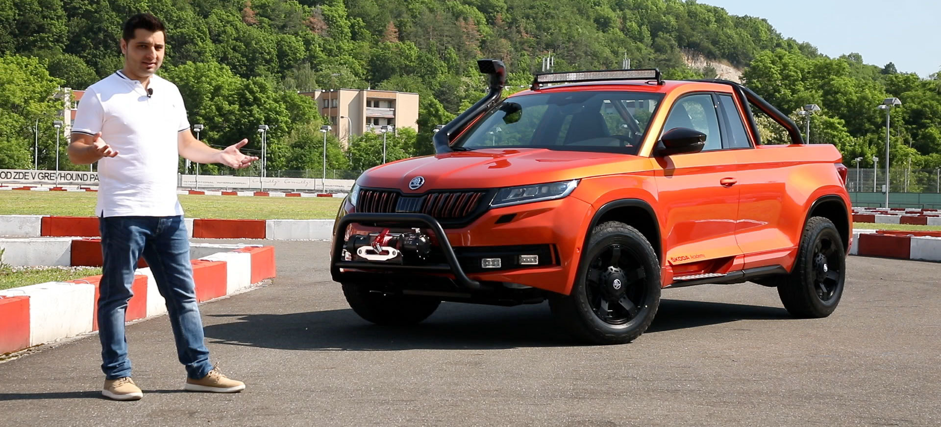 Skoda Mountiaq Video