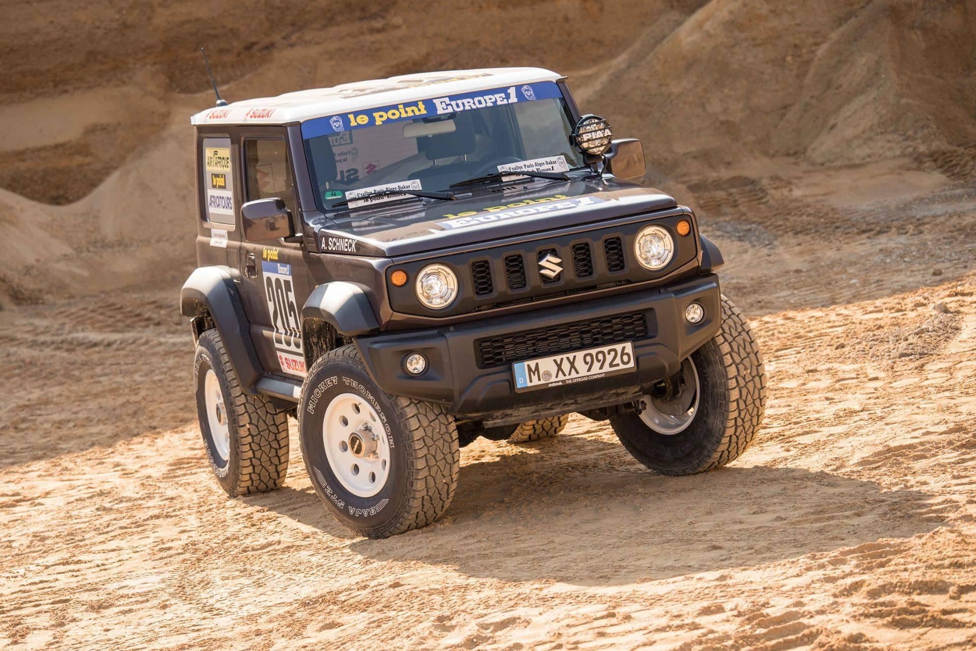 Suzuki Jimny Dakar 3