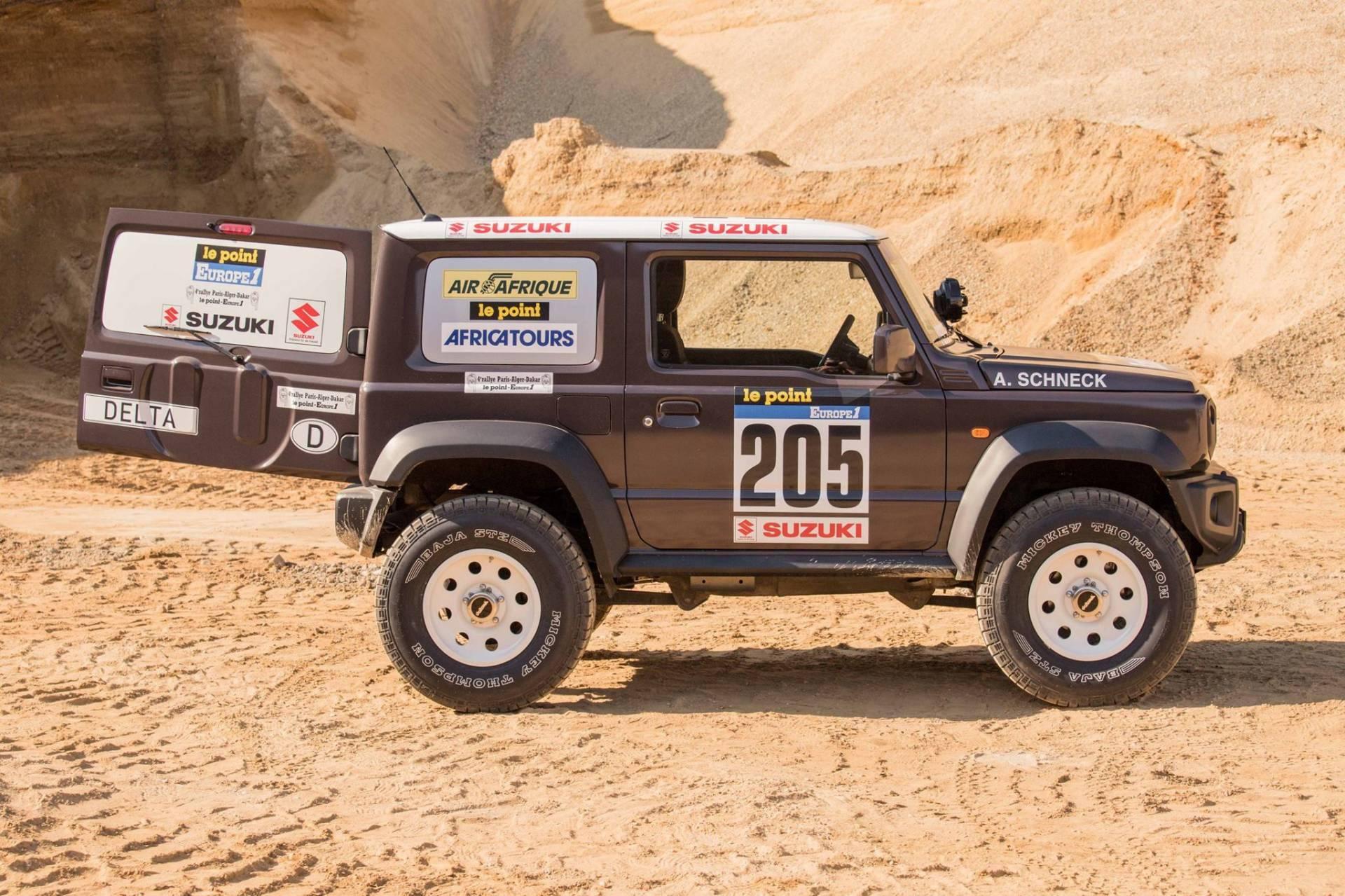 Suzuki Jimny Dakar 5