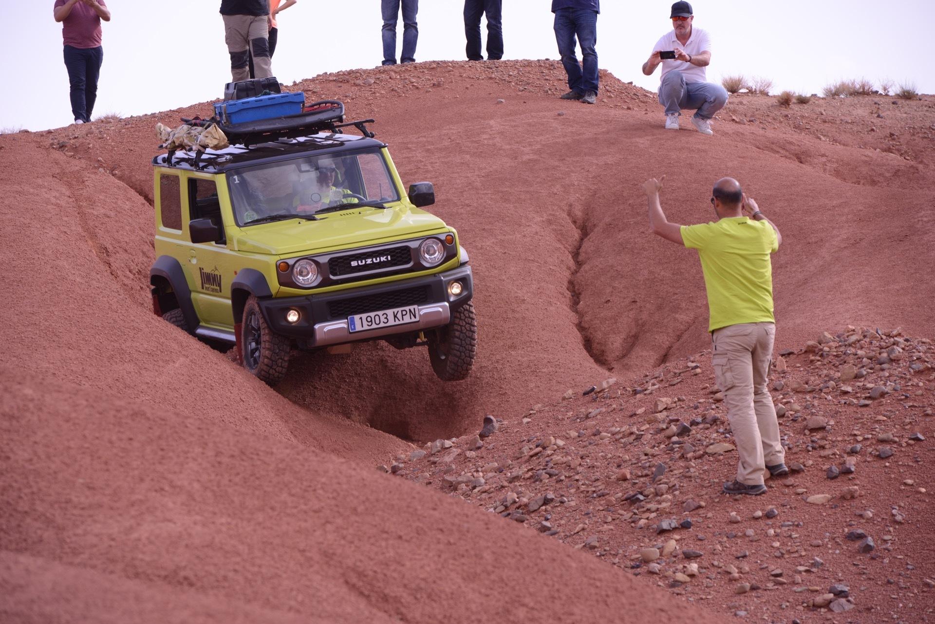 Suzuki Jimny Desert Experience 2019 00042